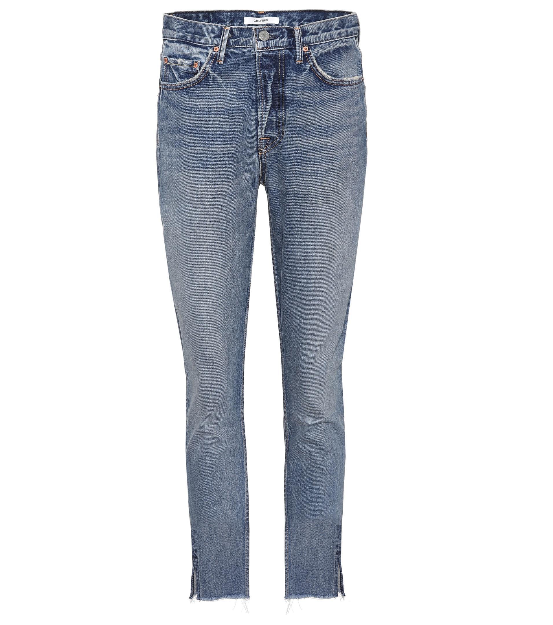 Discount Recommend Karolina cropped jeans - Blue GRLFRND Best Seller Cheap Online QH85tQn2