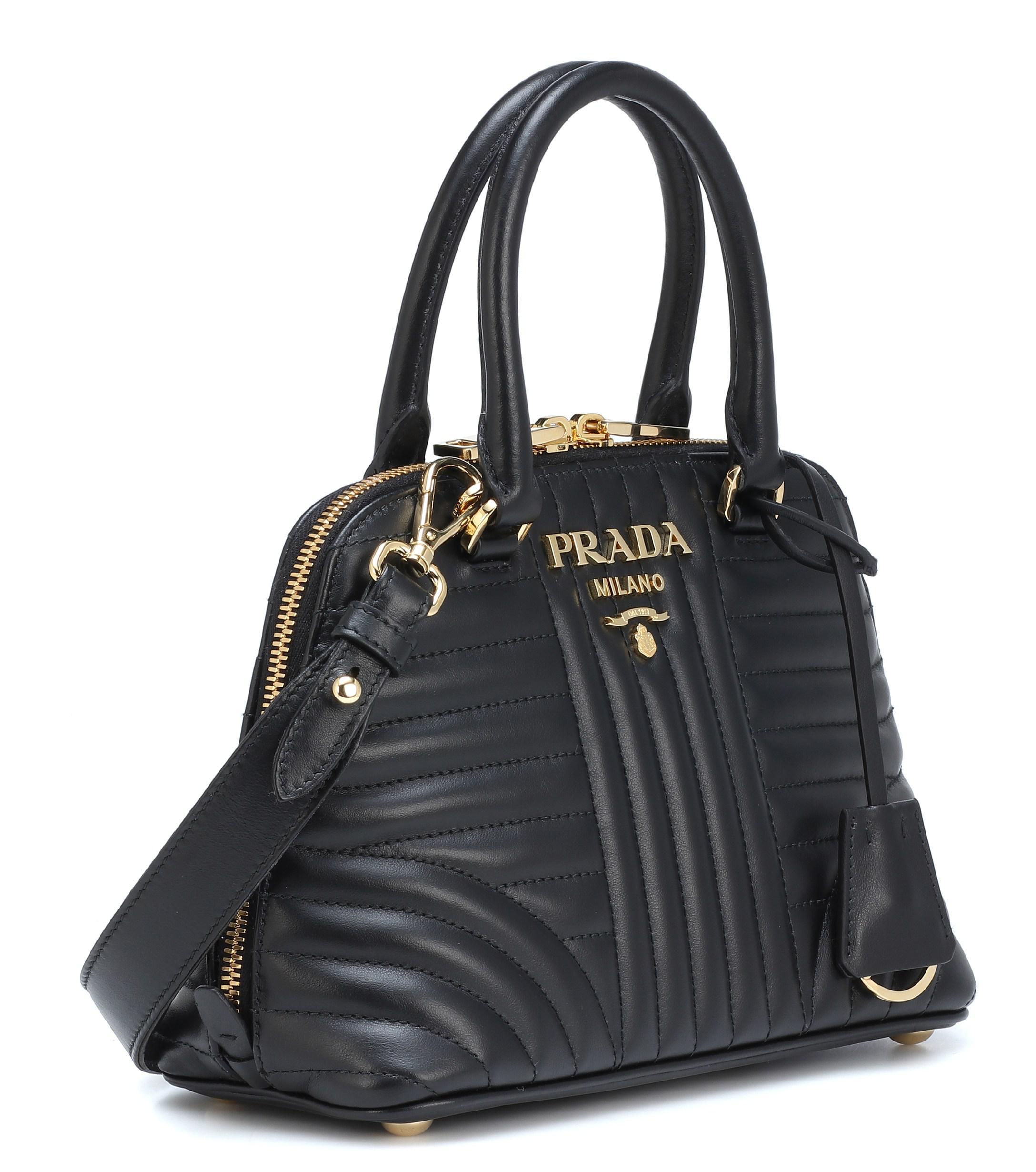 aa1bd4a5ef74 australia prada clutch bag man 8ff3e 9cedc; new zealand lyst prada  matelassé leather shoulder bag in black b66a1 d4a6e