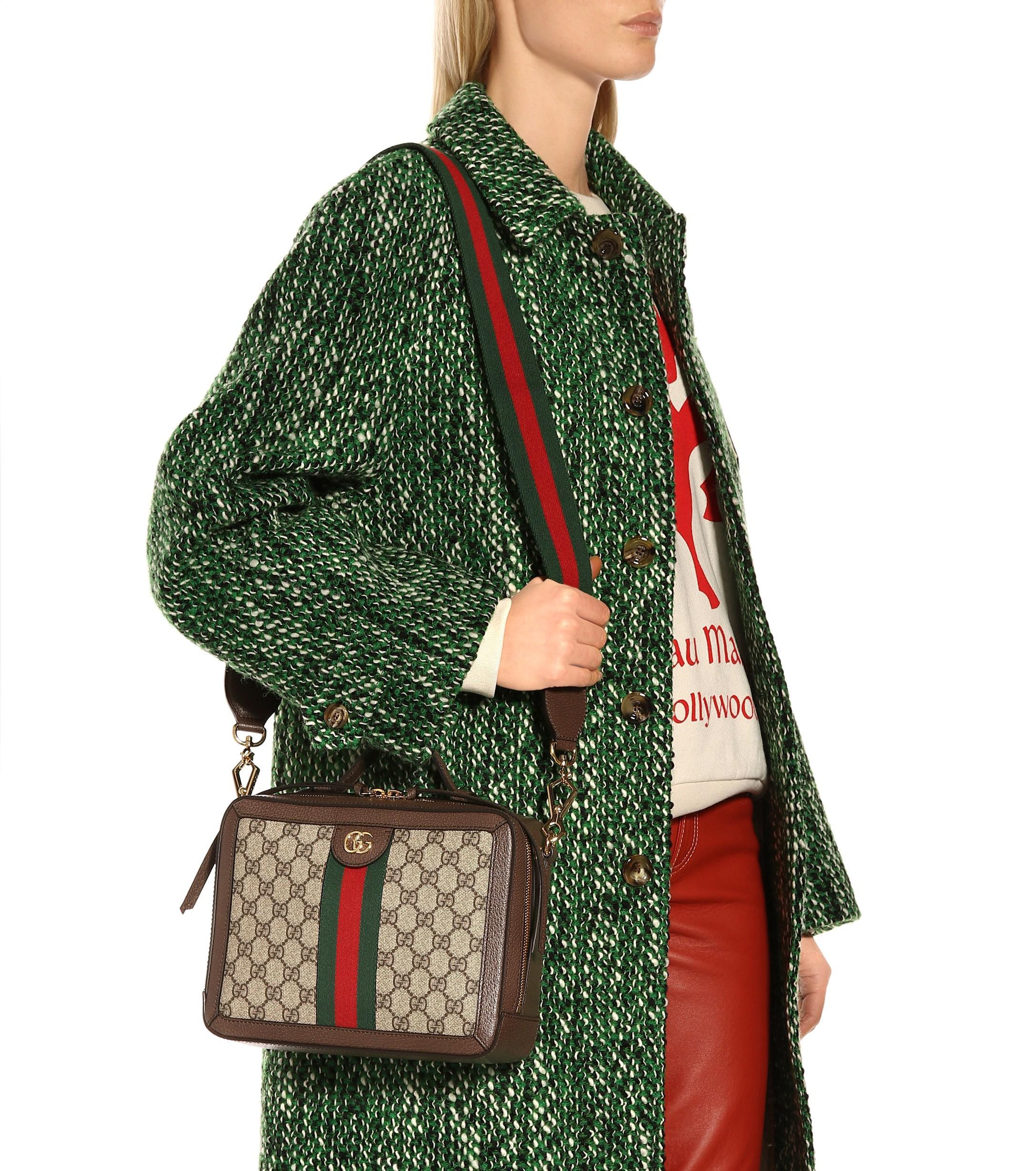 f6668b803 Gucci Ophidia Small GG Supreme Shoulder Bag - Lyst