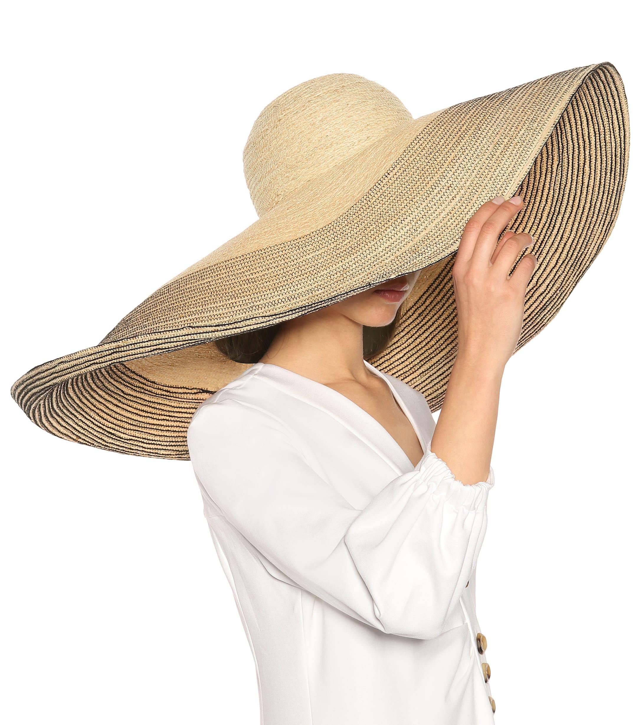 b54c8a96dd1 Lola Hats - Natural Spinner Raffia Hat - Lyst. View fullscreen