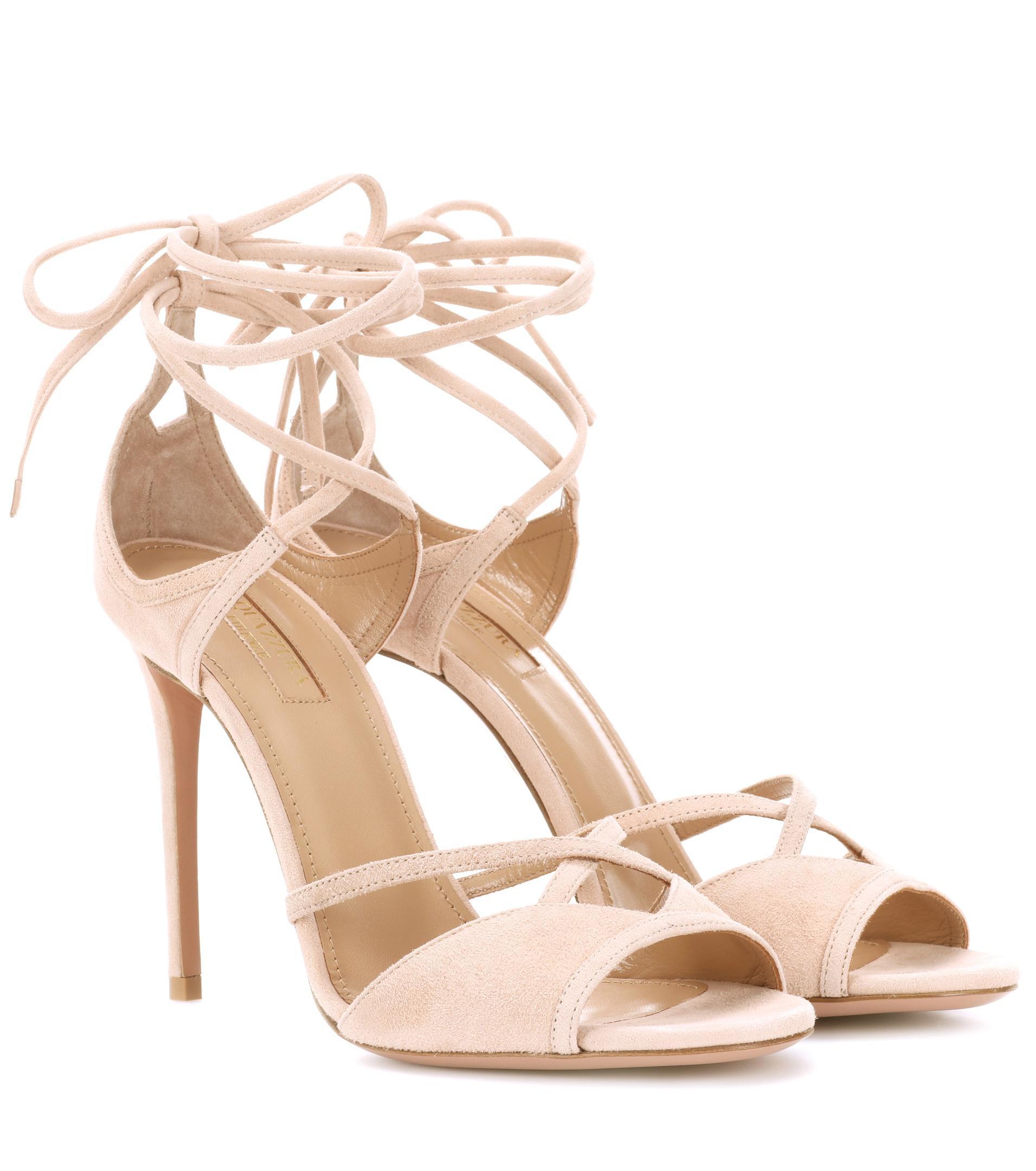 Nathalie 105 suede sandals Aquazzura 4hpKrawcxK