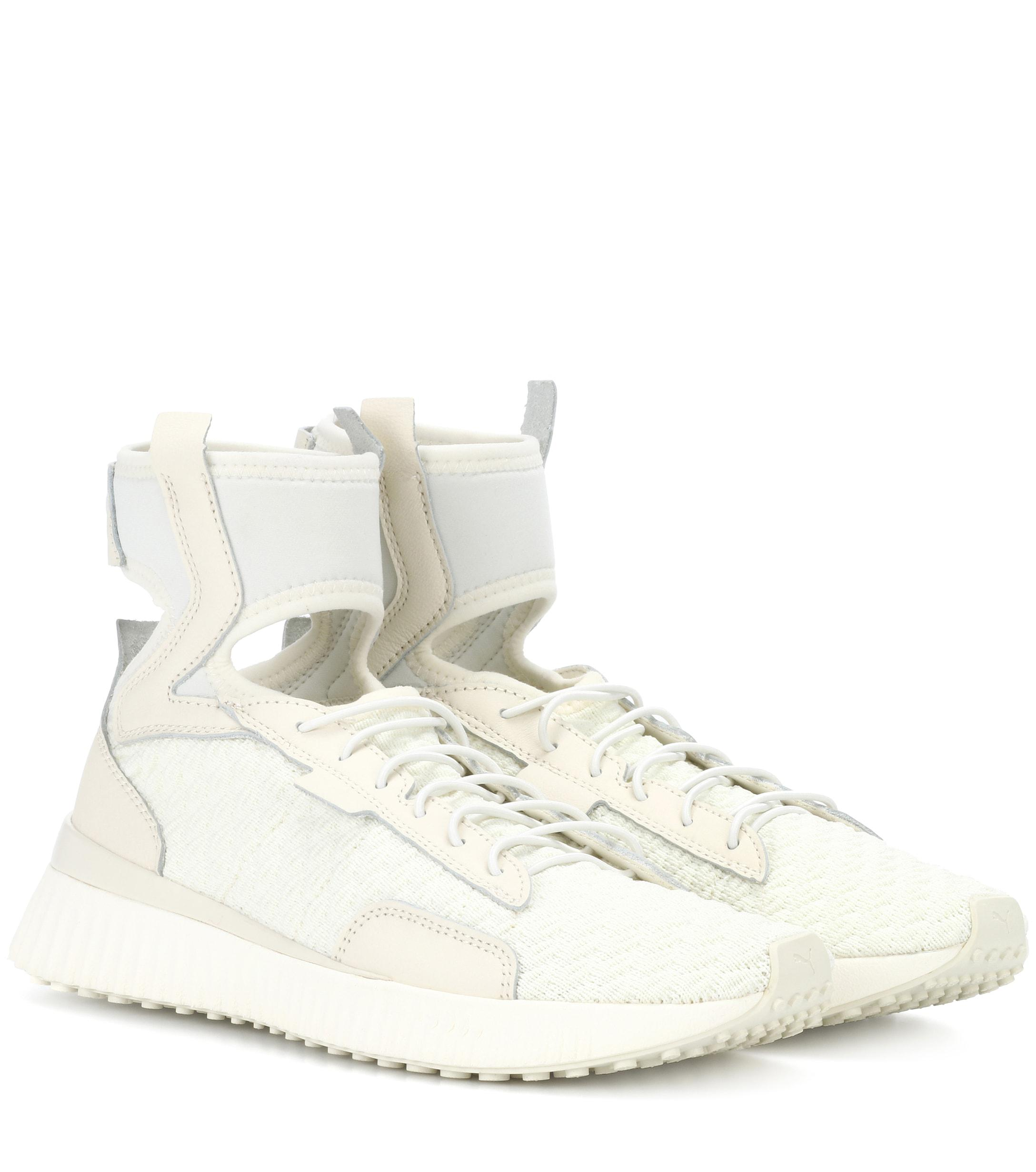 Lyst White Mid Sneakers Trainer Puma The In fwPOxSfrq 153420867e5