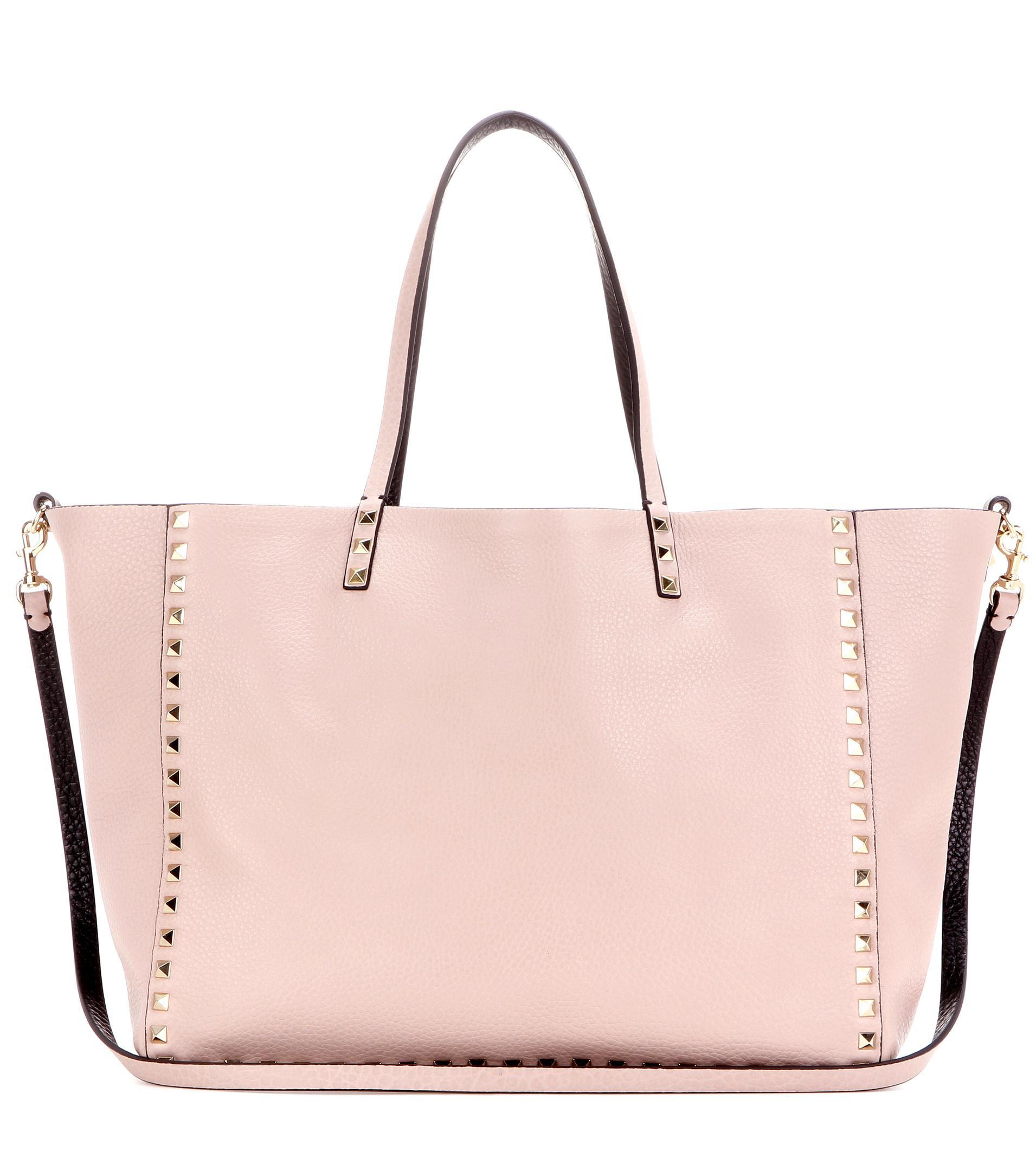 Looking For Buy Cheap Best Prices Garavani leather shopper Valentino UYlIOMzcX1