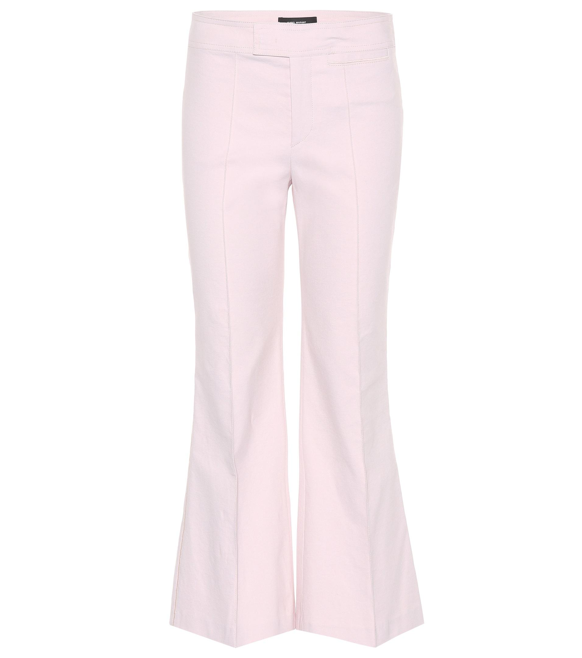 Clearance Low Shipping Best Prices Lyre trousers - Pink & Purple Isabel Marant For Cheap Sale Online Lz9QYfKs