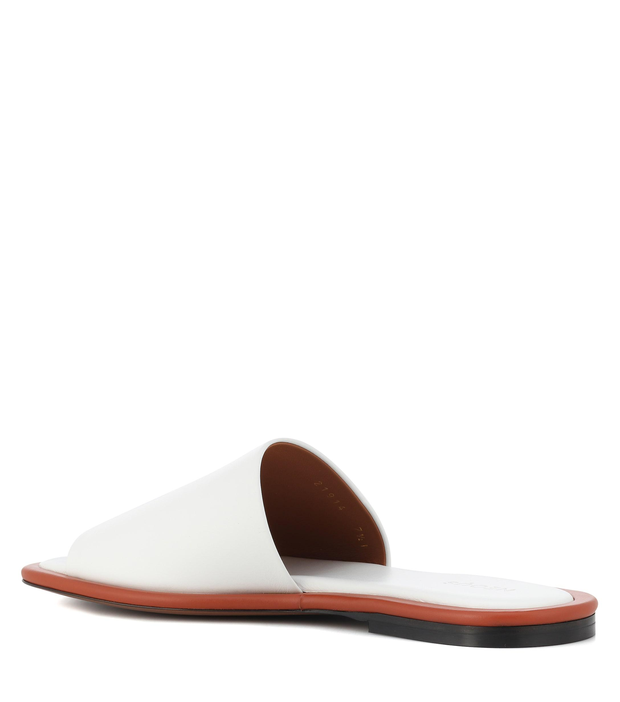 online store 0d833 9d8bb neous-whitetan-Leather-Slides.jpeg