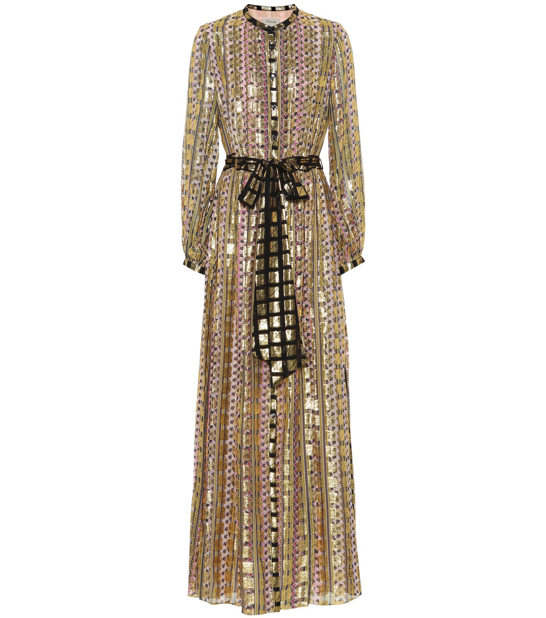Lyst Fil London Print Dress Coupé Letter Temperley rxUBqwpr