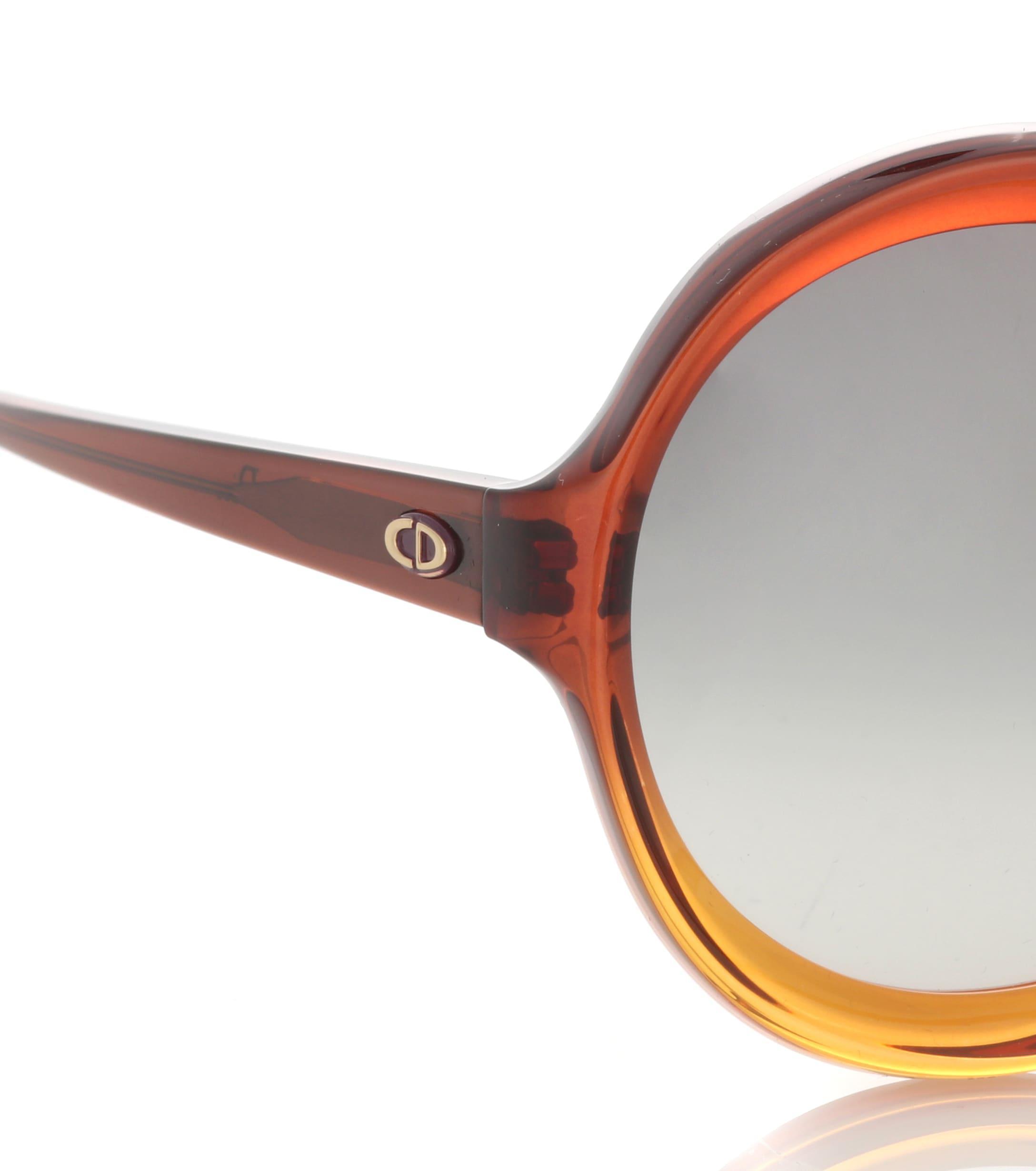 77e2ed2f2e Dior - Brown Diorbianca Oversized Sunglasses - Lyst. View fullscreen