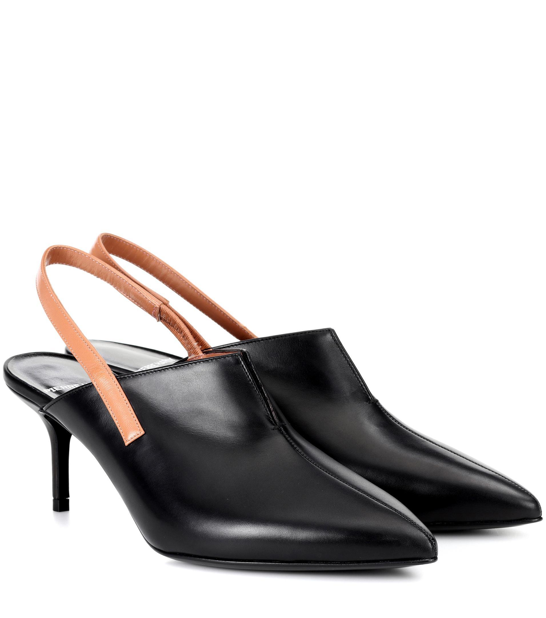 Sale Cheapest Pierre Hardy Secret leather slingback sandals Outlet 2018 New Official Online Cheap Enjoy HjfYUnByM