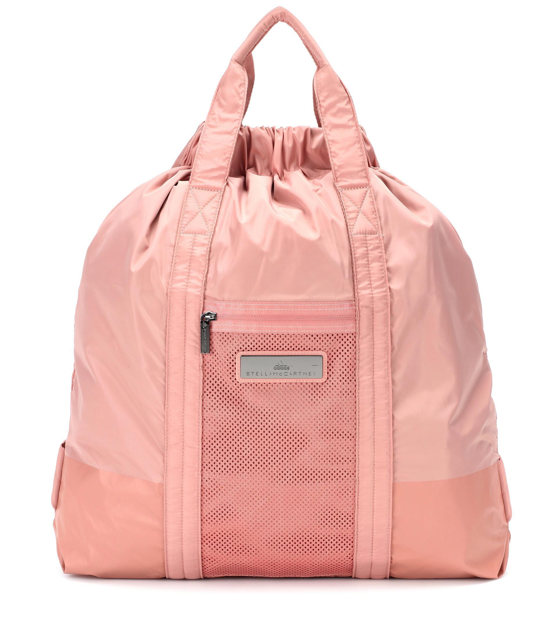 Lyst - adidas By Stella McCartney Gym Bag in Pink 0ef7464d35