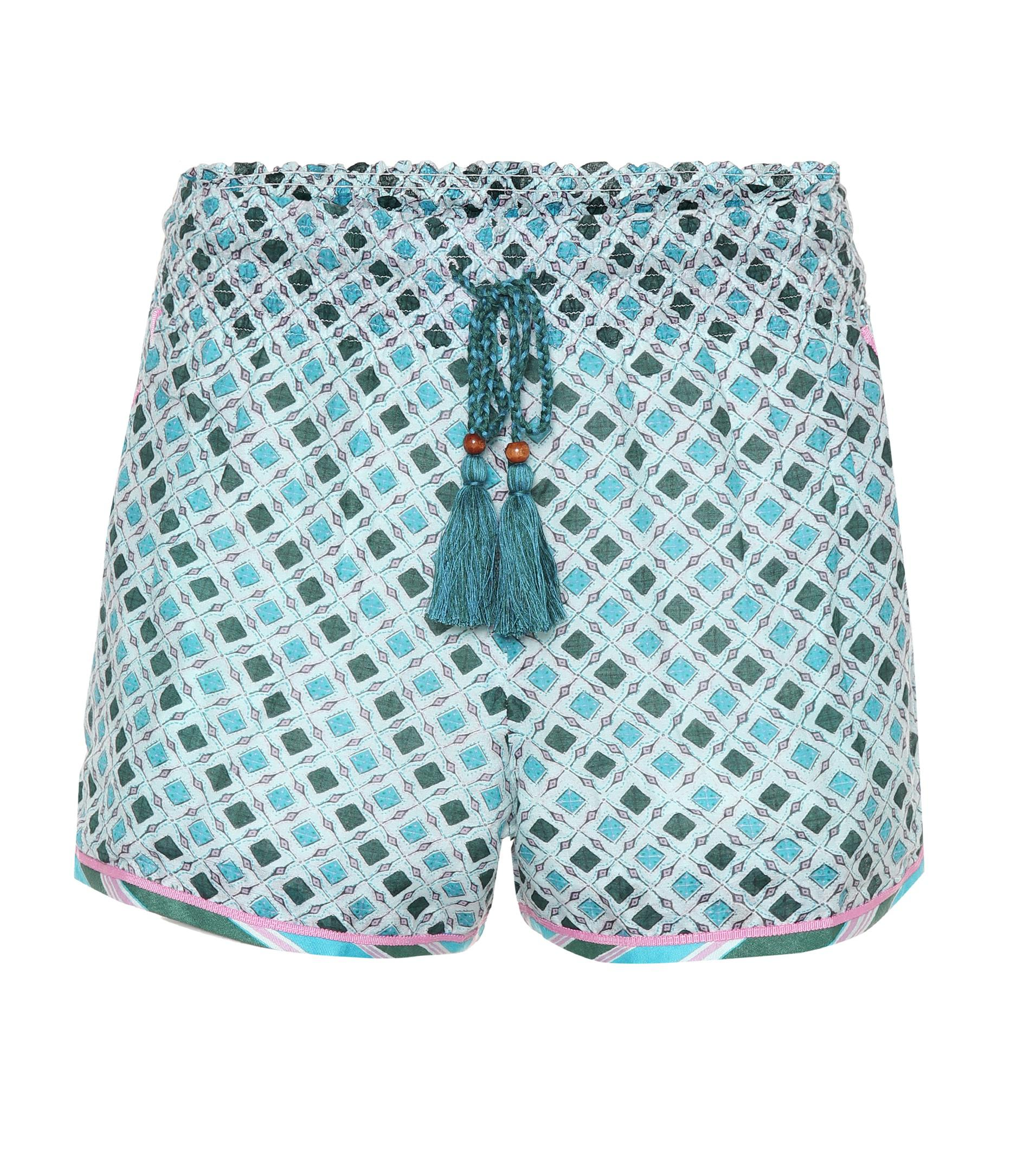 Silk and cotton shorts Talitha XdjJw