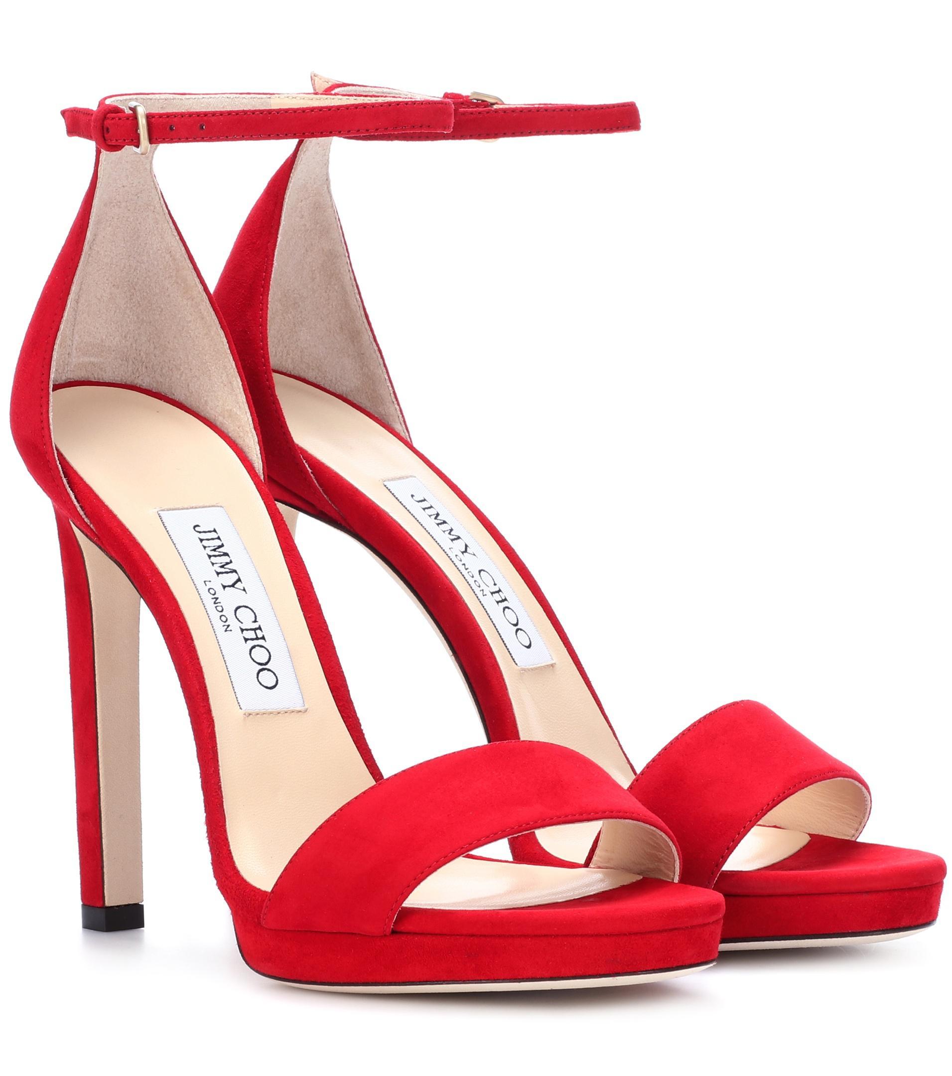 Jimmy Choo Misty 120 suede sandals official site online JHvqR7Kou