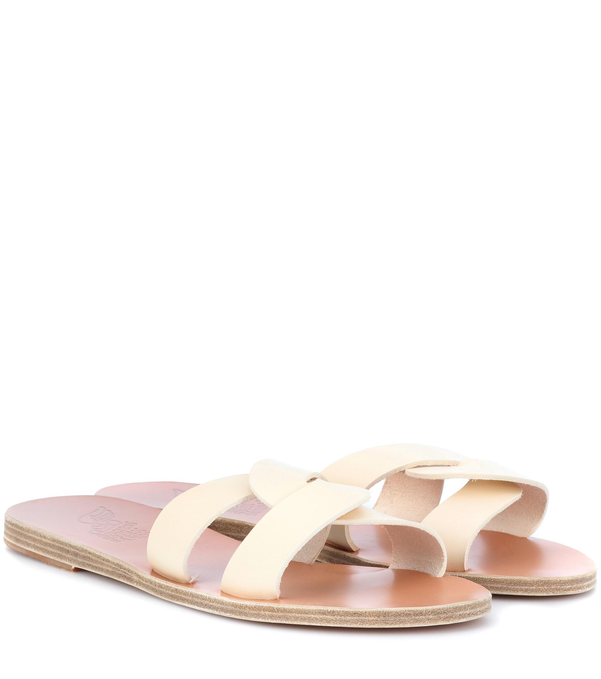 Clearance Inexpensive Clearance Collections Ancient Greek Sandals Desmos leather sandals 0napd
