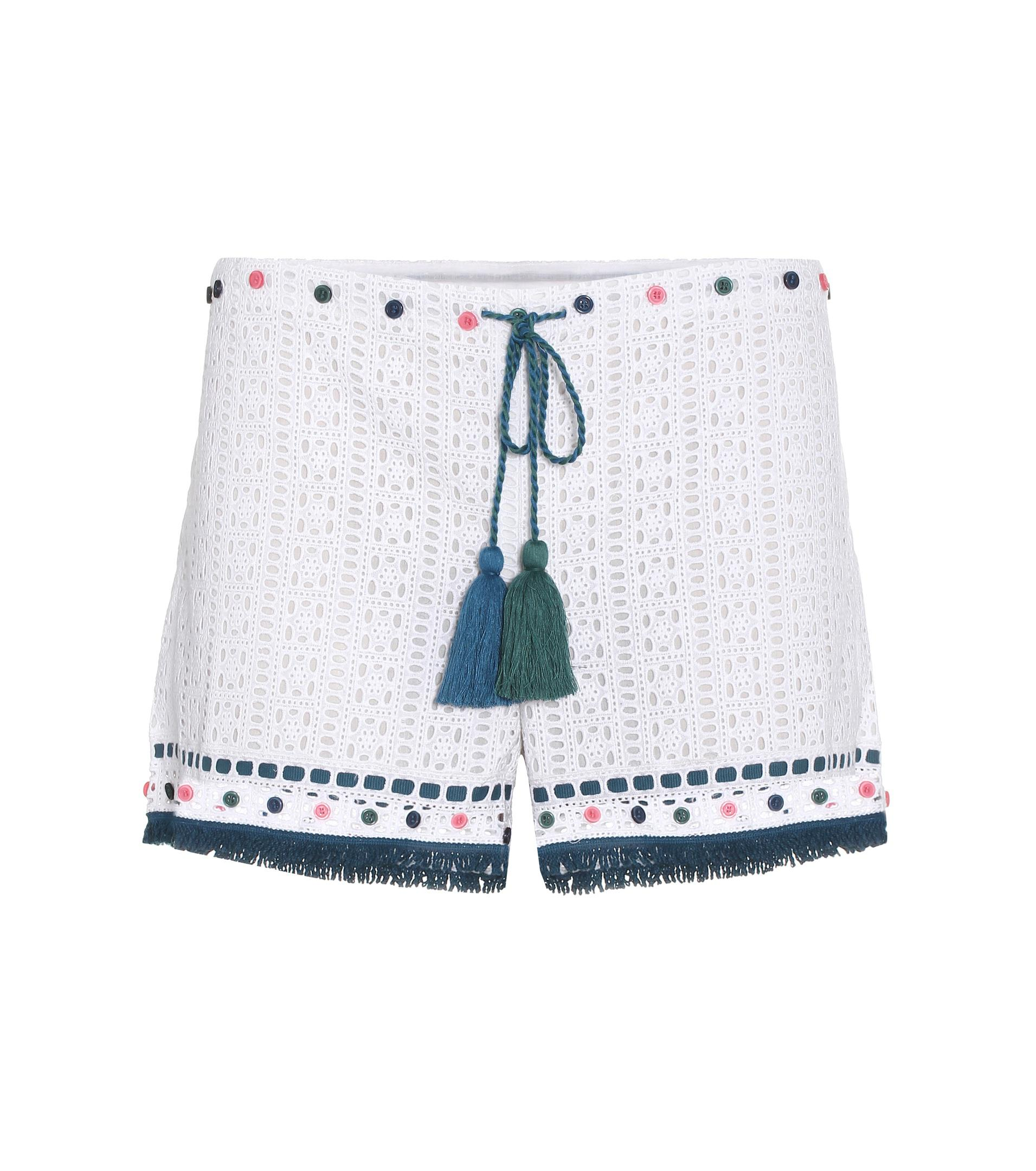 Eyelet cotton shorts Talitha BA1BGK4hb6