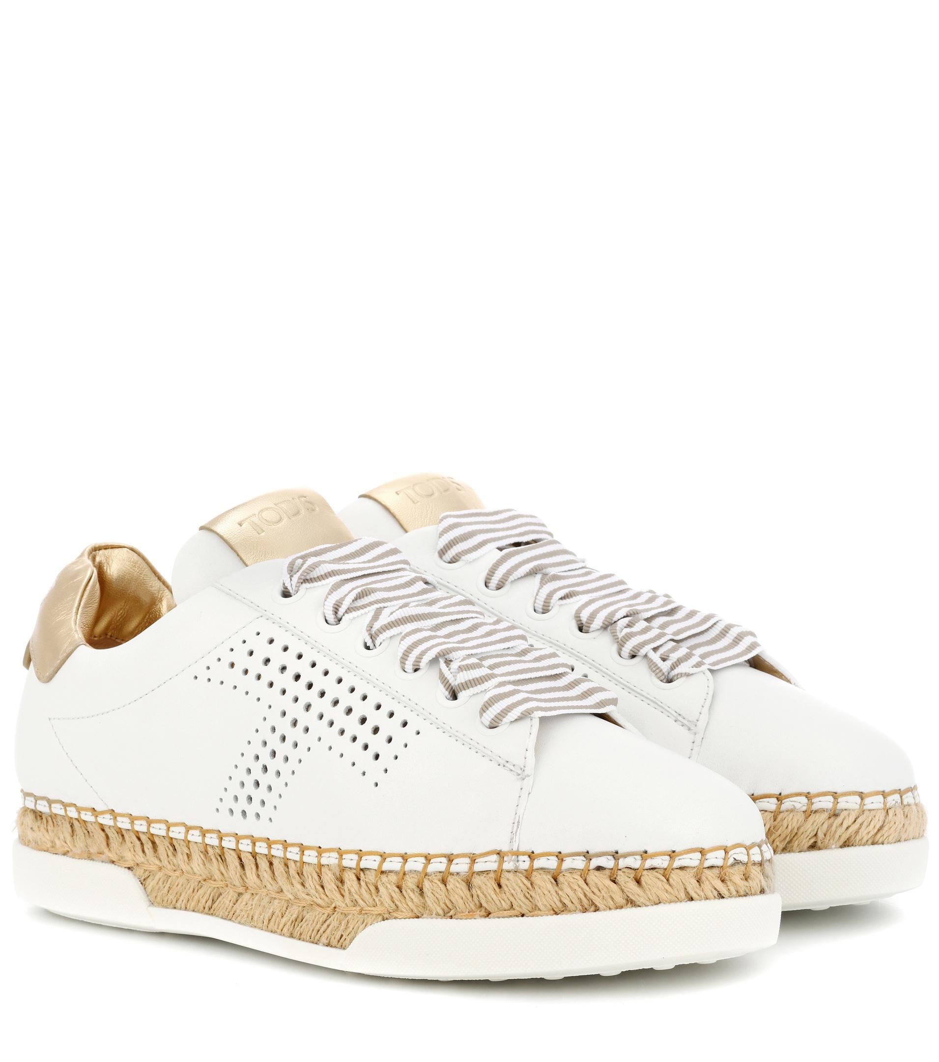 Gomma leather sneakers Tod's 8w8zRY3eIr