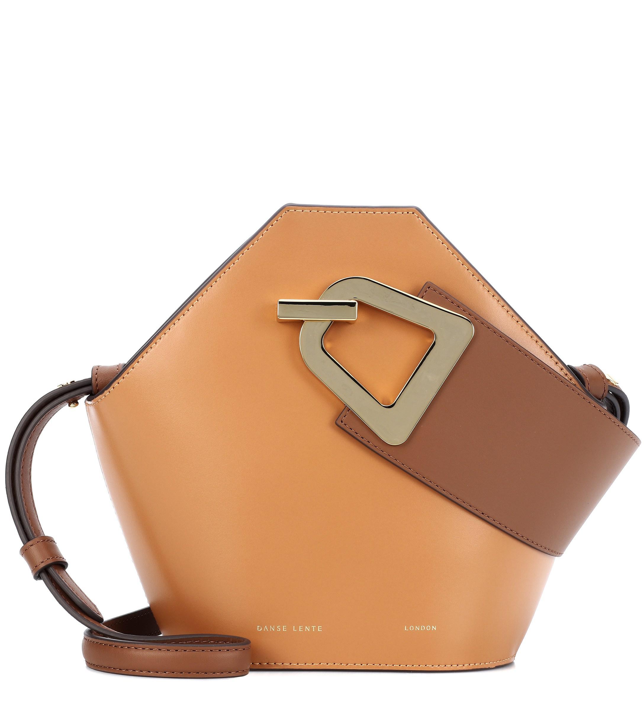 091bbb5b518d Danse Lente - Brown Mini Johnny Leather Bucket Bag - Lyst. View fullscreen