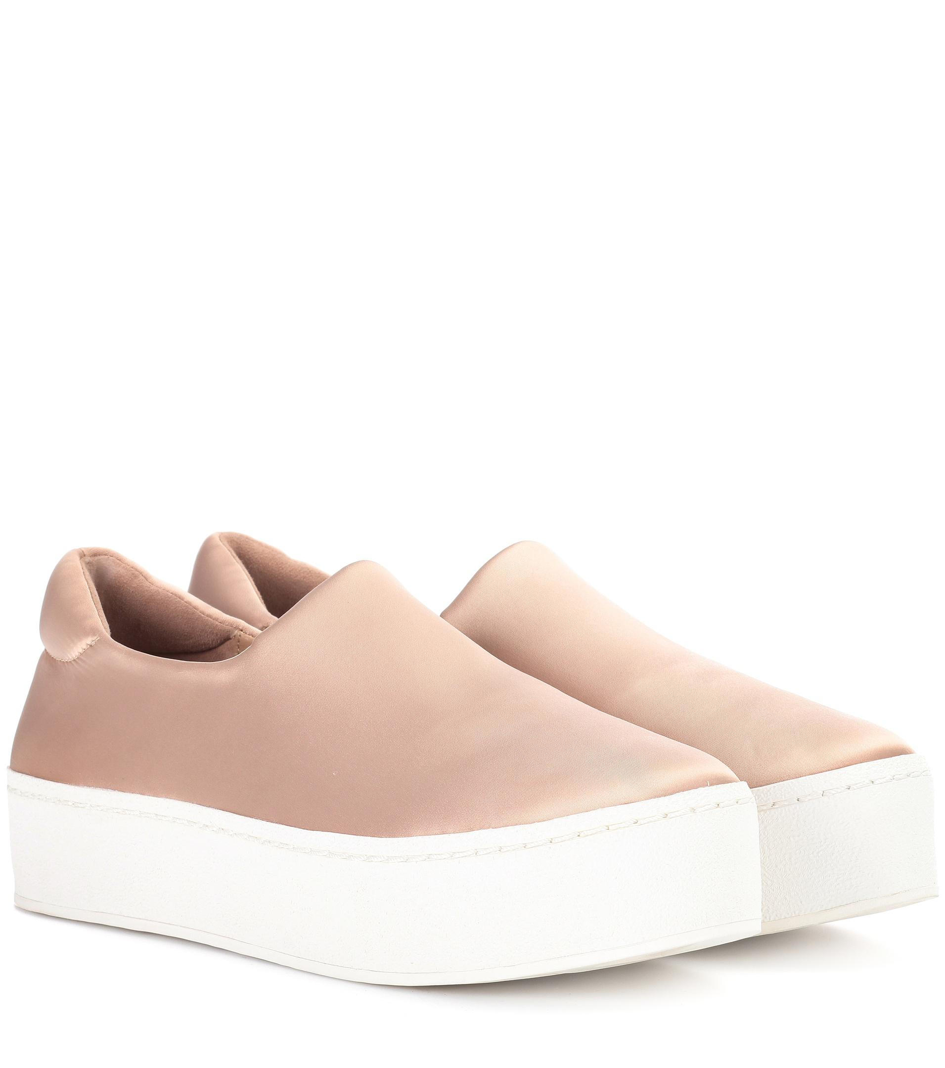 Opening Ceremony Cici satin platform sneakers Online Cheap Quality m1JipkBb