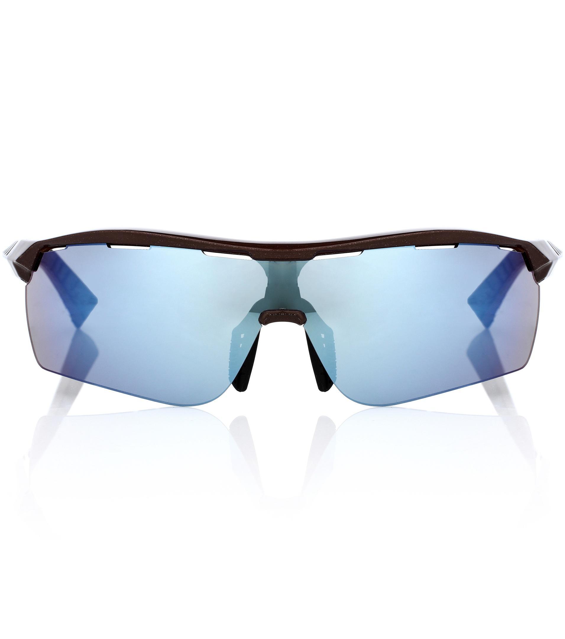 Turbo Wrap D-frame Acetate Mirrored Sunglasses - Fuchsia Stella McCartney b54iuSzJkI