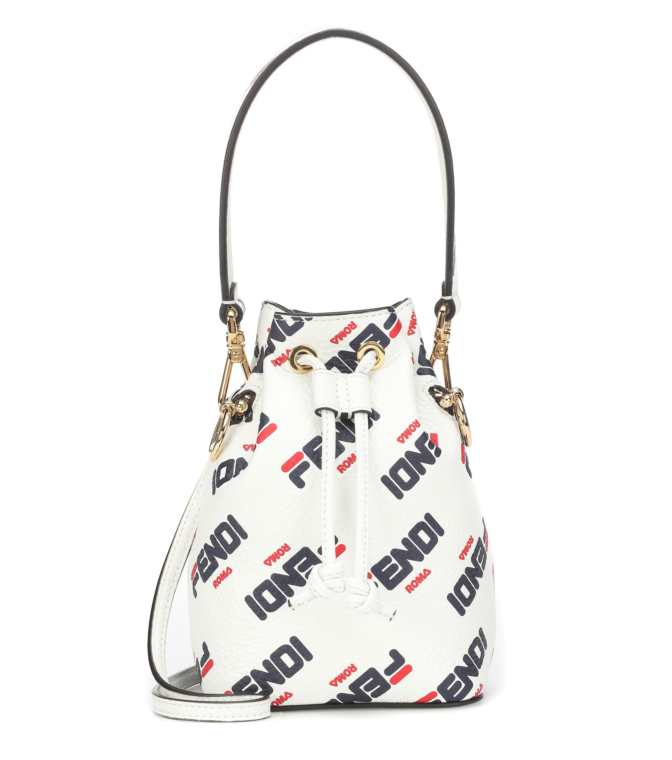 b0a325c8d40 Fendi. Women s Mania Mon Trésor Mini Bucket Bag