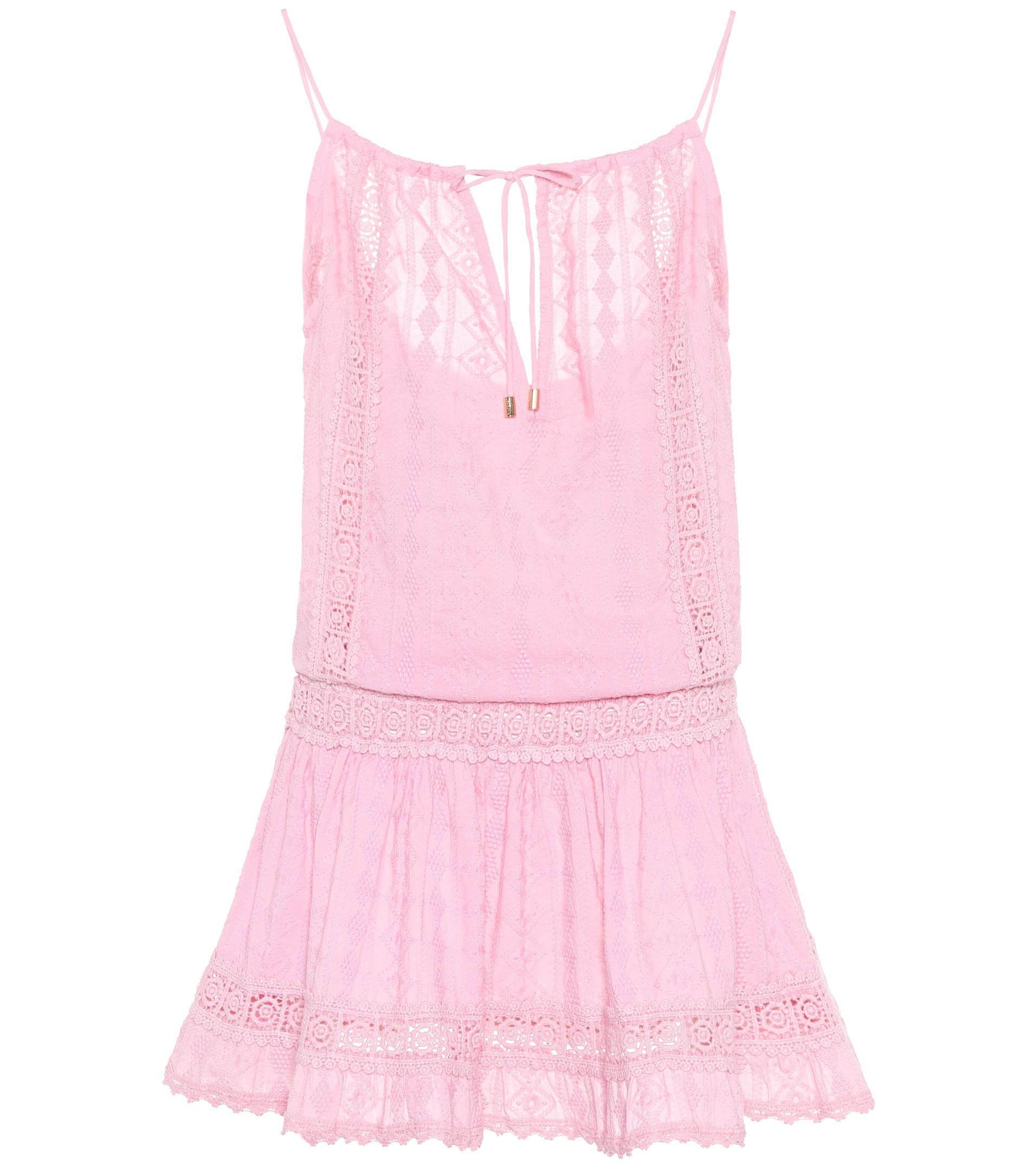 Chelsea broderie-anglaise cotton dress Melissa Odabash rMW9nG