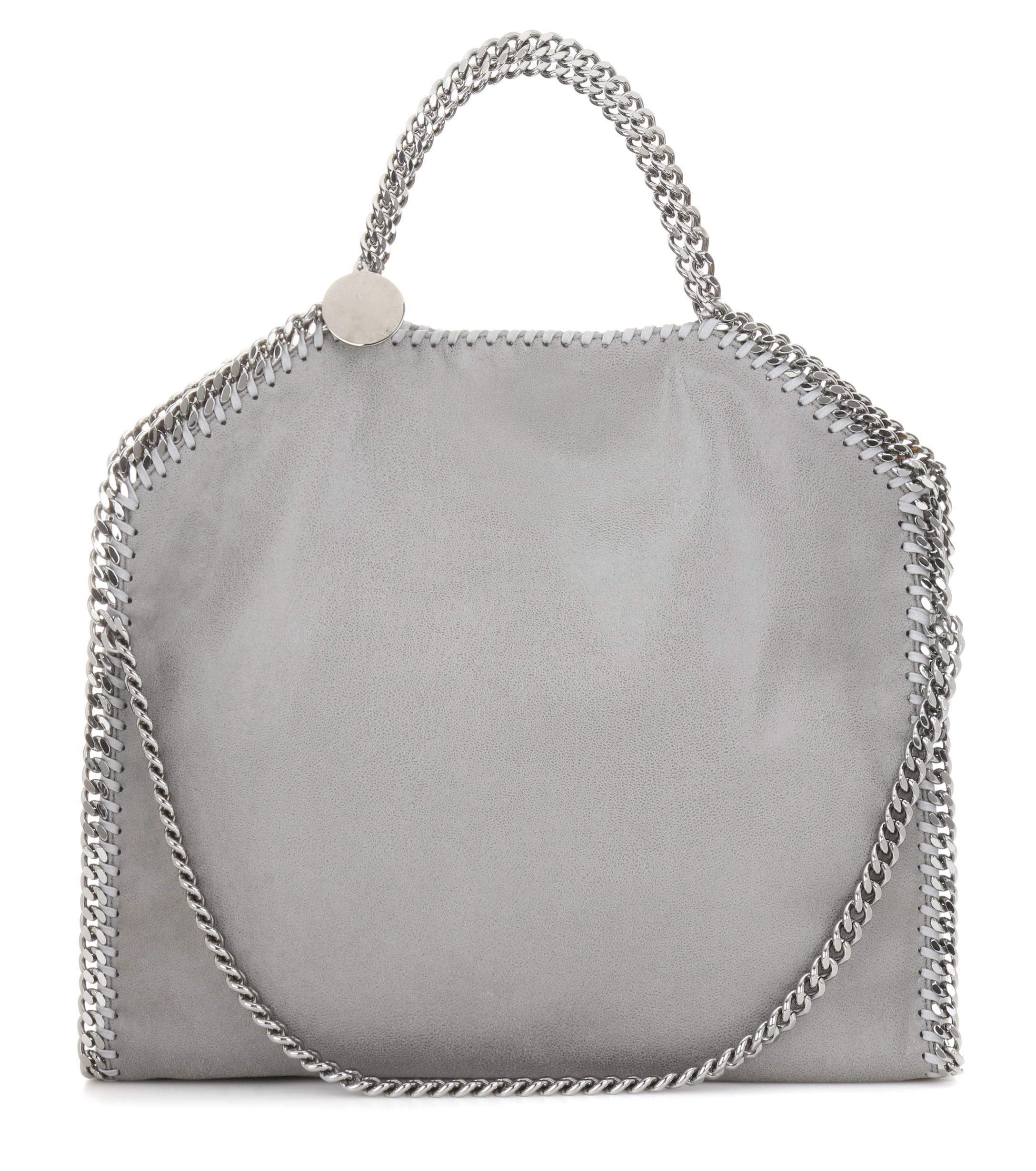 3b8f42c1a7 Lyst - Stella McCartney Small Falabella Shaggy Deer Shoulder Bag in Gray