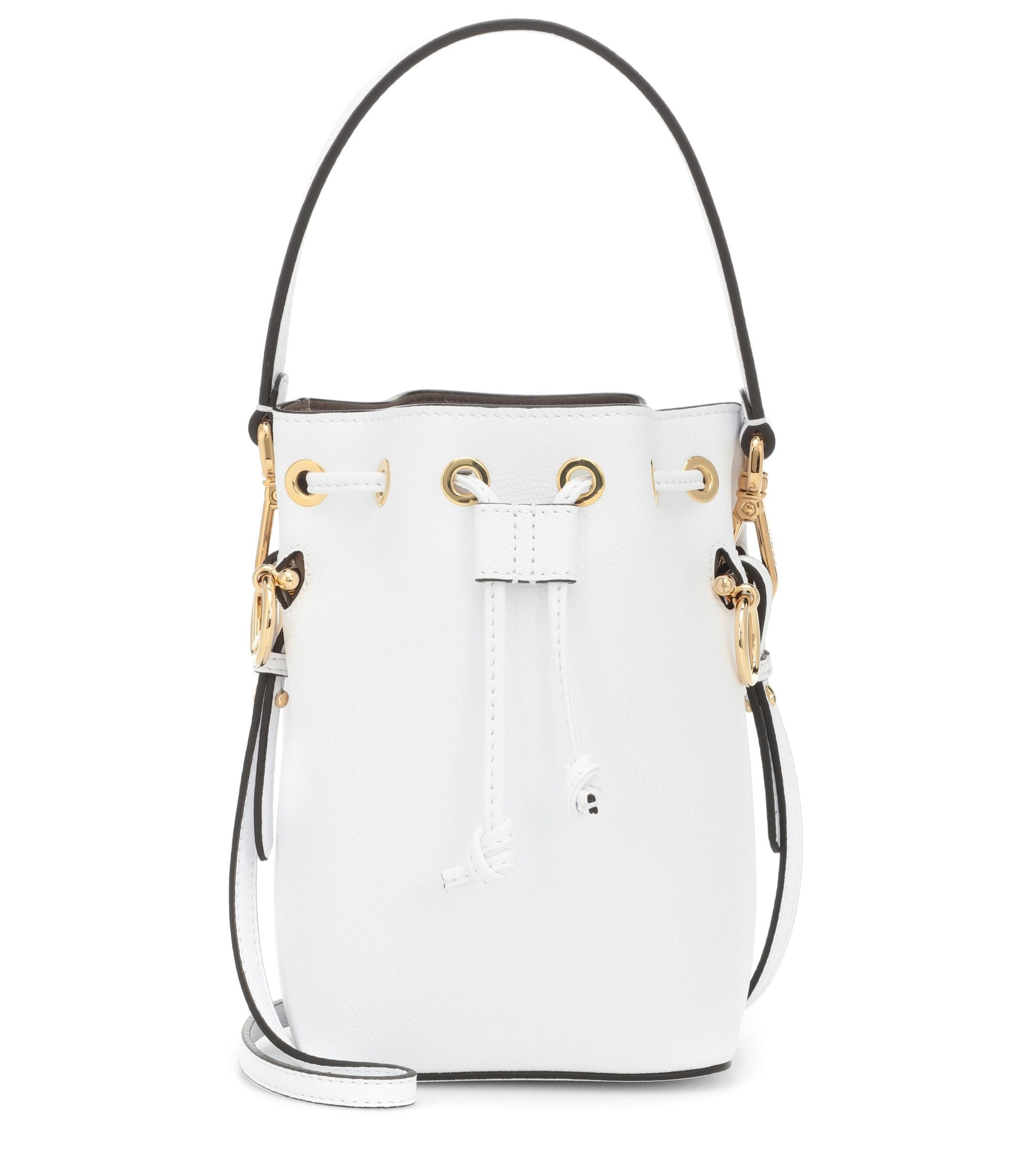 11dac2f84f3 Fendi. Women s Mon Trésor Mini Leather Bucket Bag
