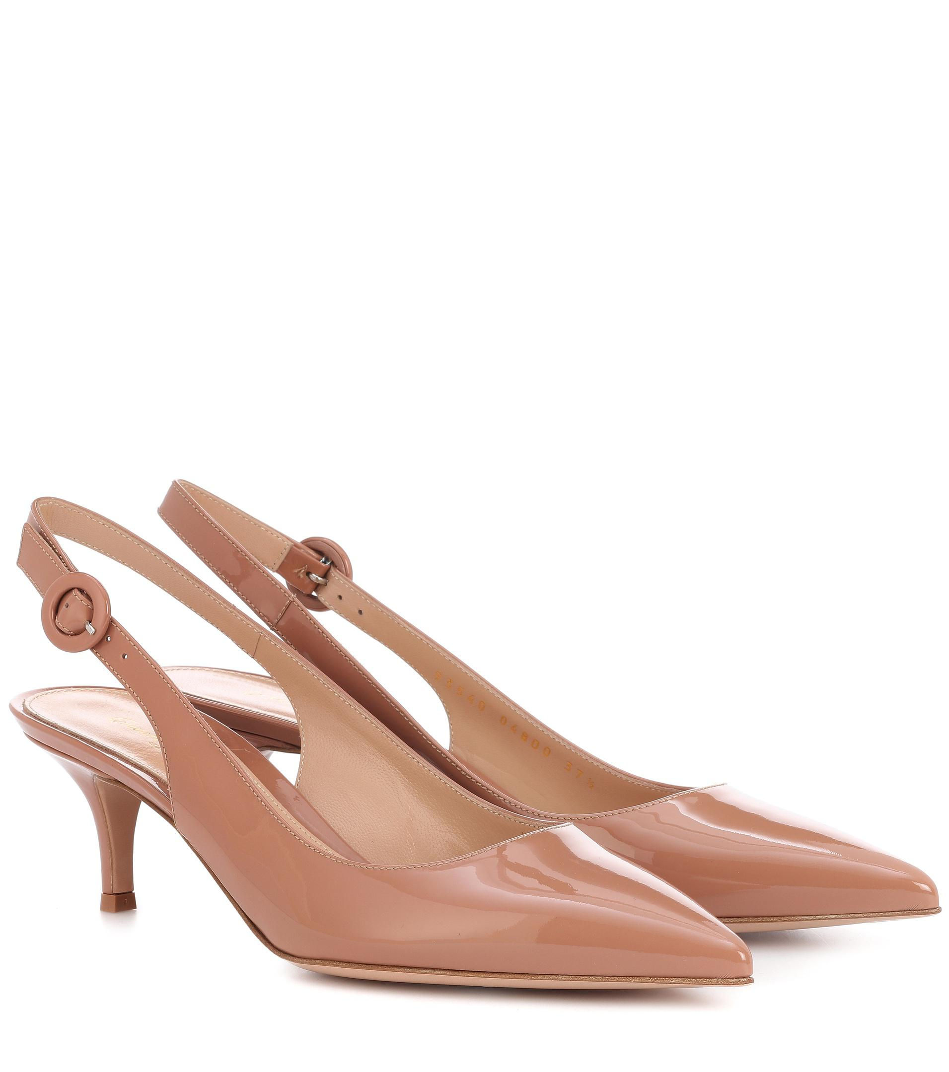 Exclusive to mytheresa.com - Anna 55 suede slingback pumps Gianvito Rossi ihhNwA