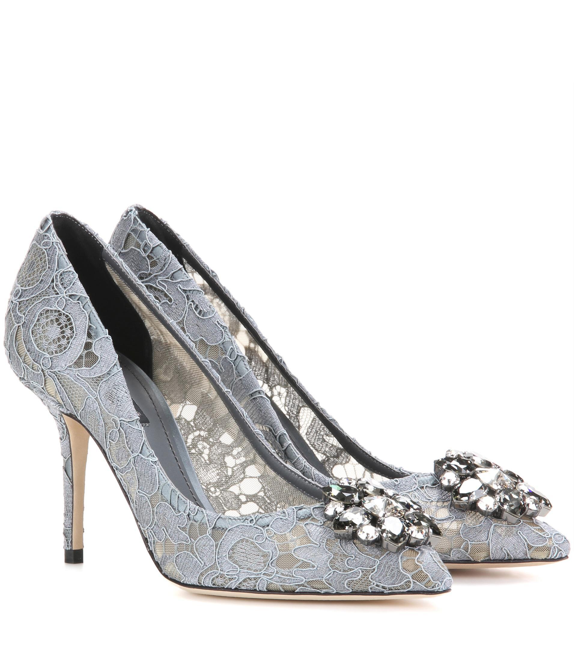 Dolce & Gabbana - Gris Pompes Bellucci AdLhny
