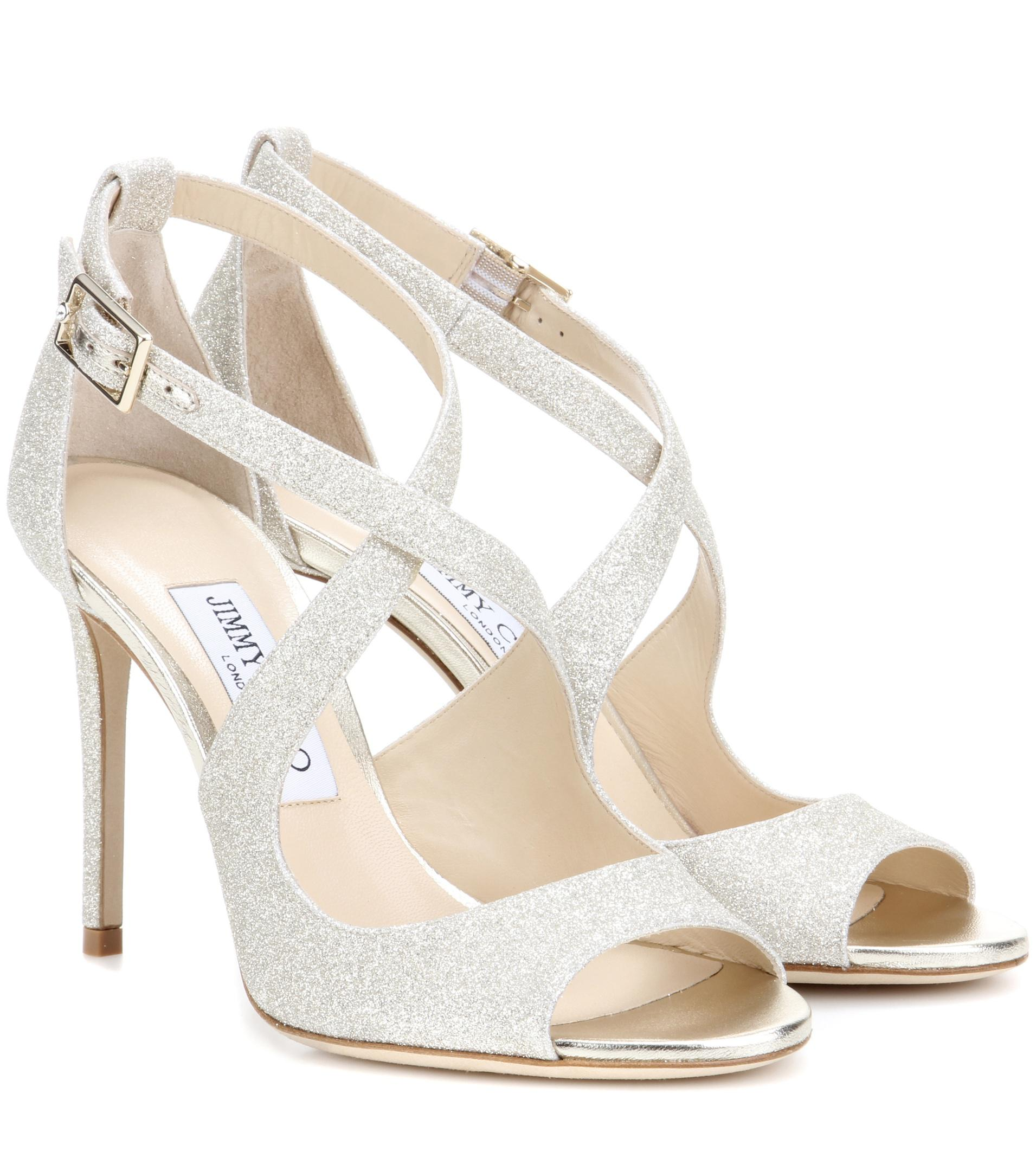 b88c1ad8842de Gallery. Previously sold at  Mytheresa · Women s Jimmy Choo Glitter ...
