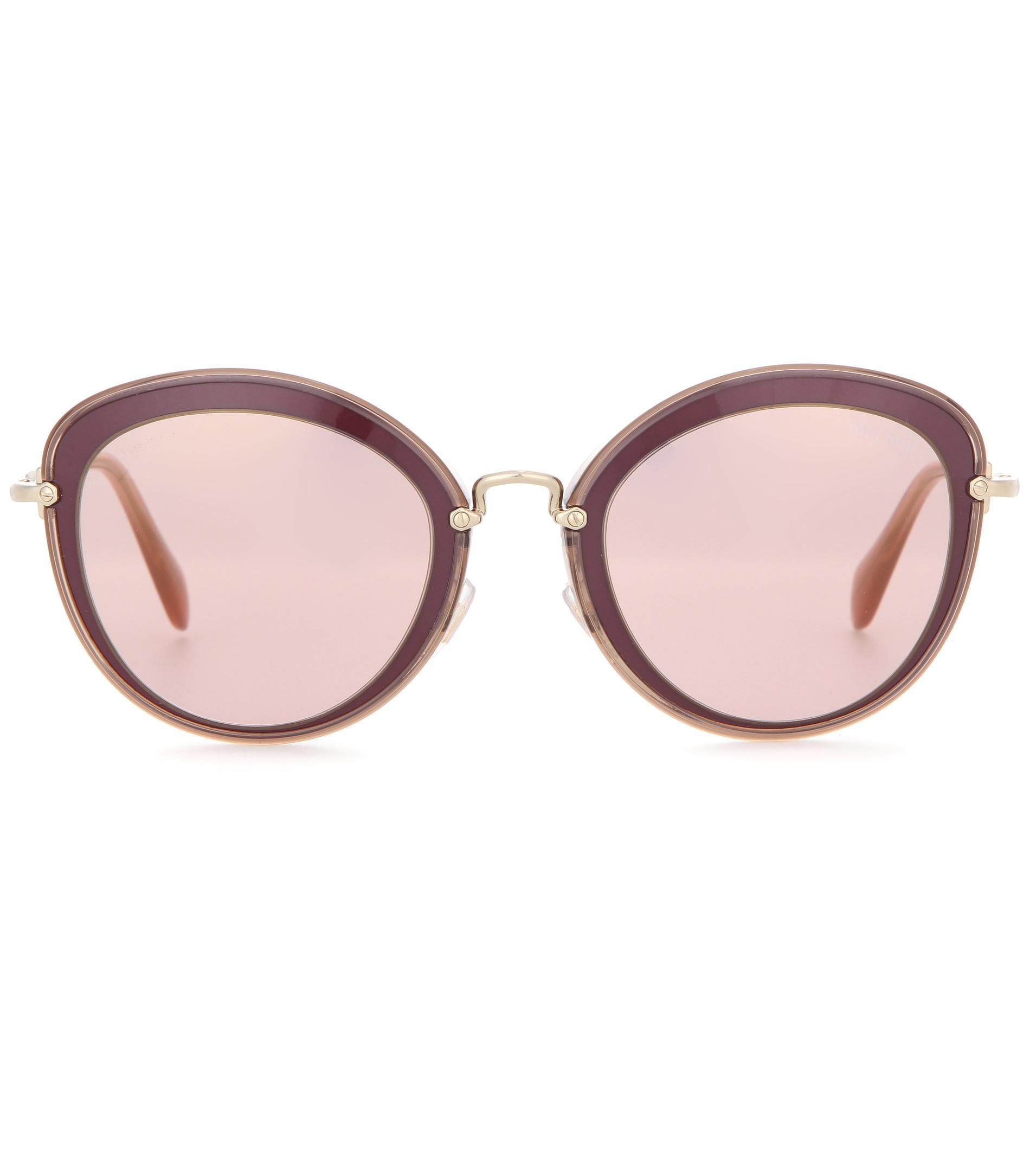 fd8bfbba98253 Miu Miu Red Glasses
