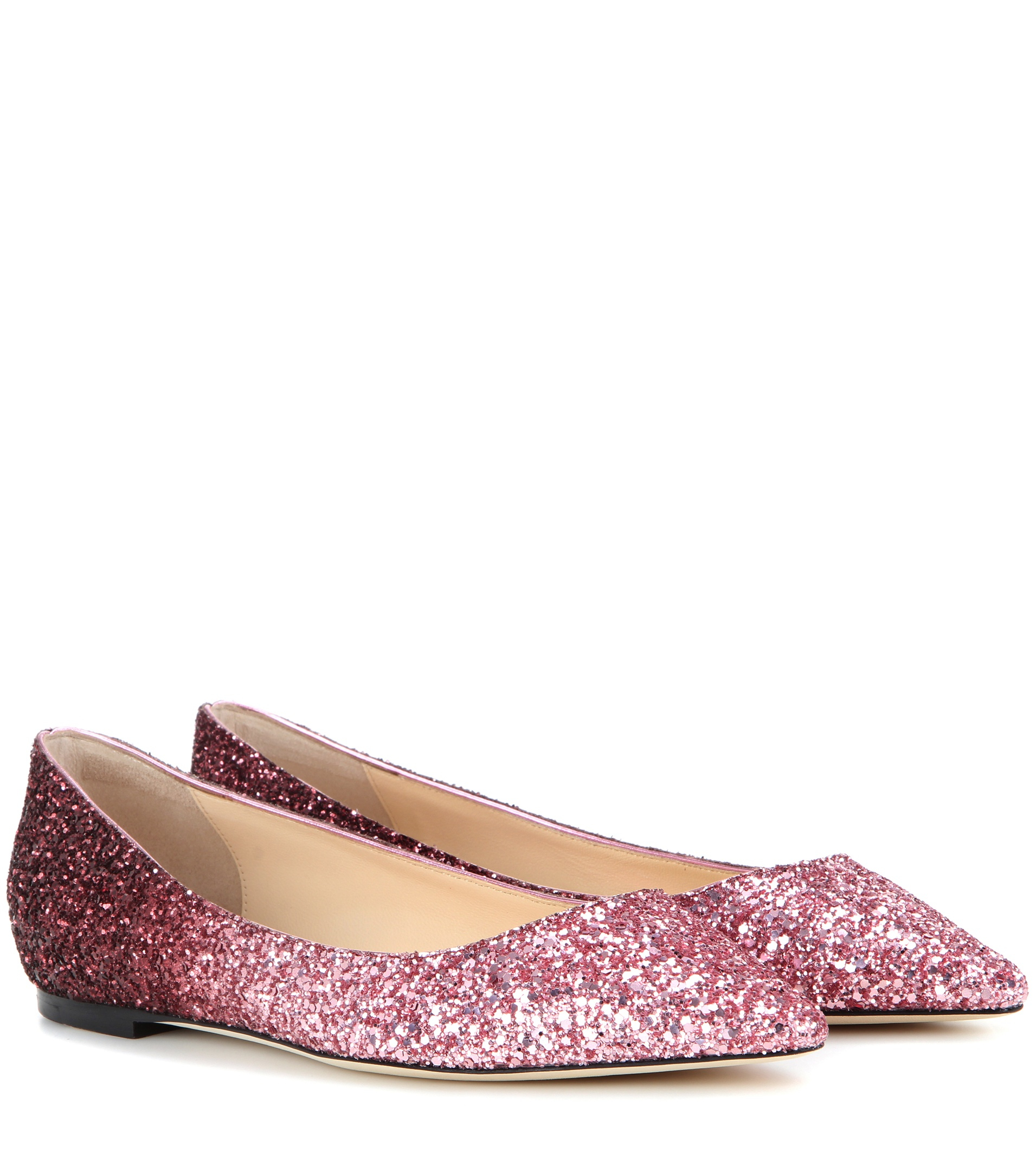 1fffa5bee73 Gallery. Previously sold at  Mytheresa · Women s Jimmy Choo Glitter ...