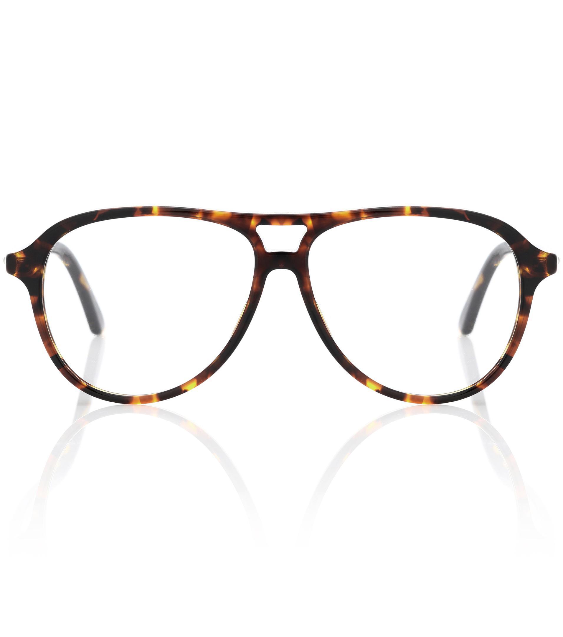 64689c46375 Lyst - Dior Montaigne52 Glasses in Brown