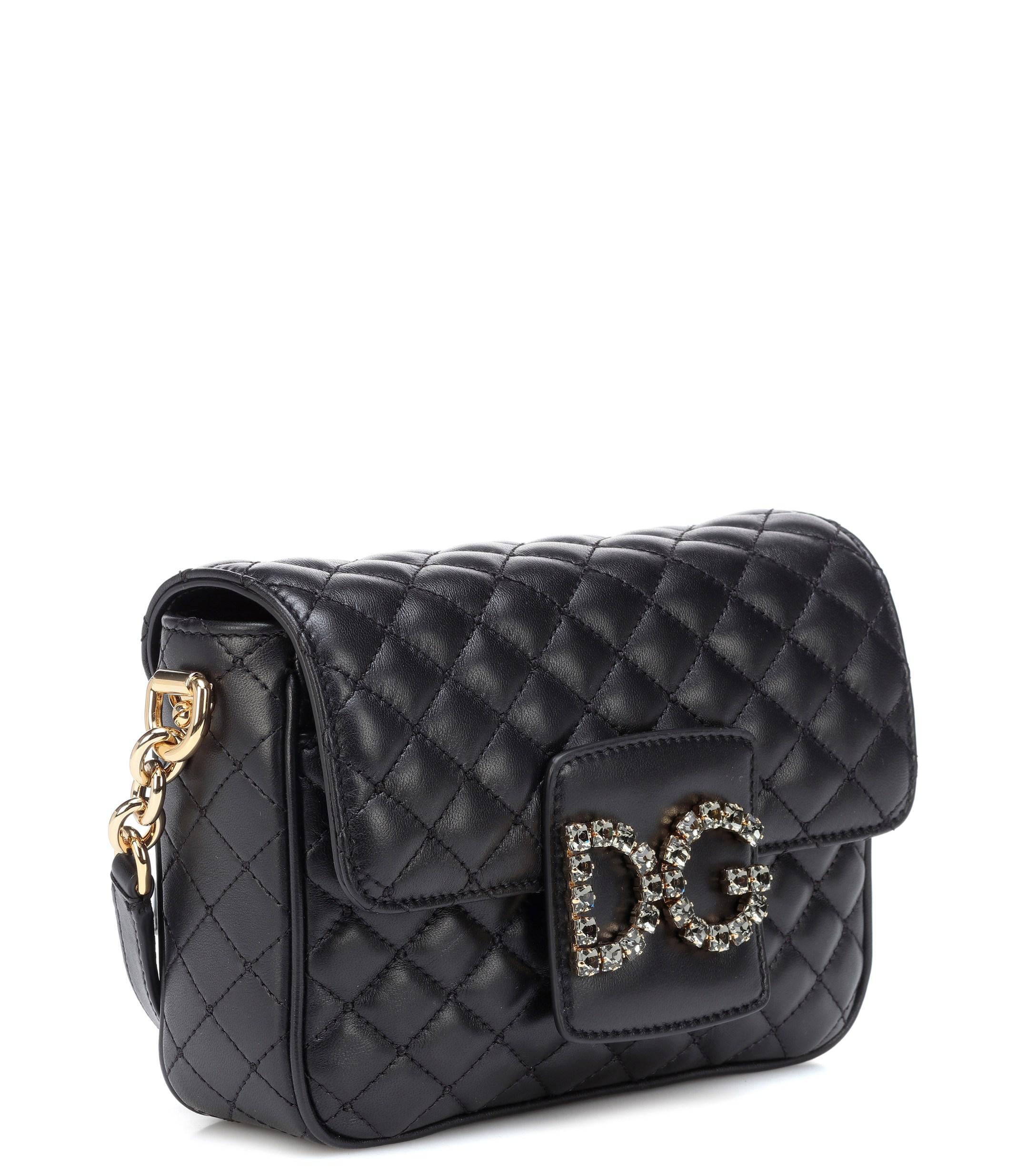 Dolce   Gabbana - Black Dg Millennials Small Shoulder Bag - Lyst. View  fullscreen d2e129761392c