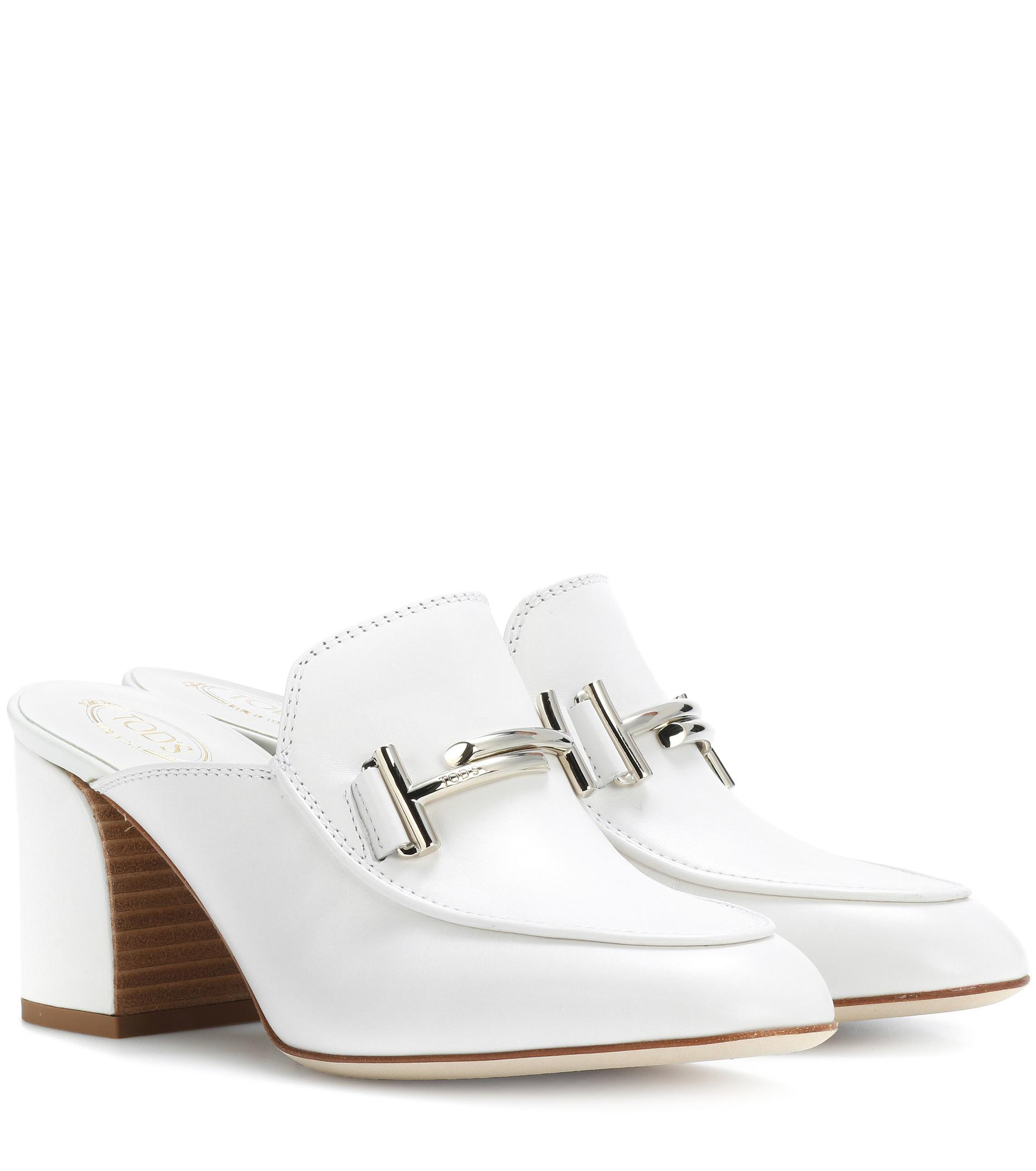 White 97A sandals with buckles Tod's R4knVEnn