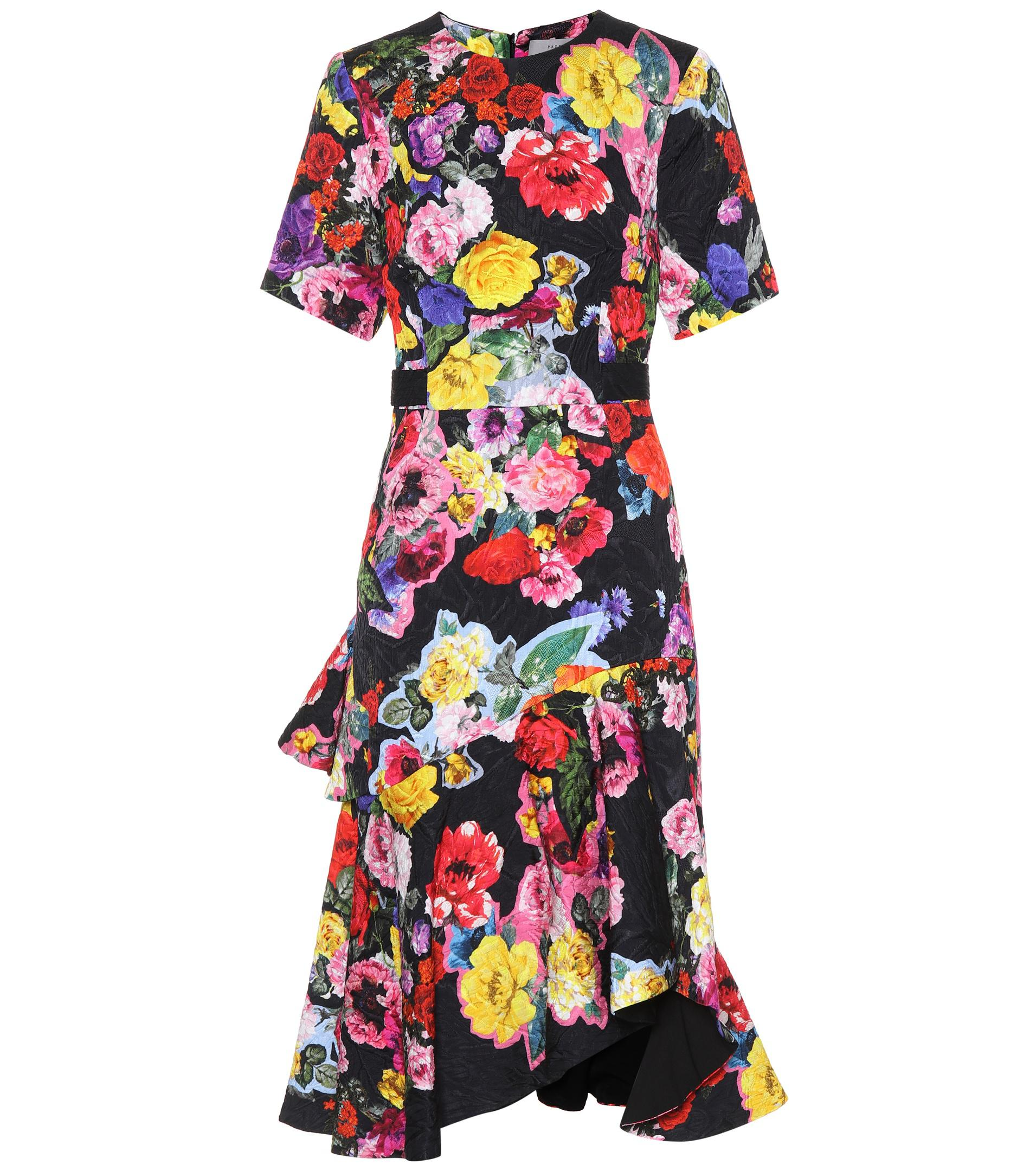 Sita floral-printed dress Preen JVdOb0