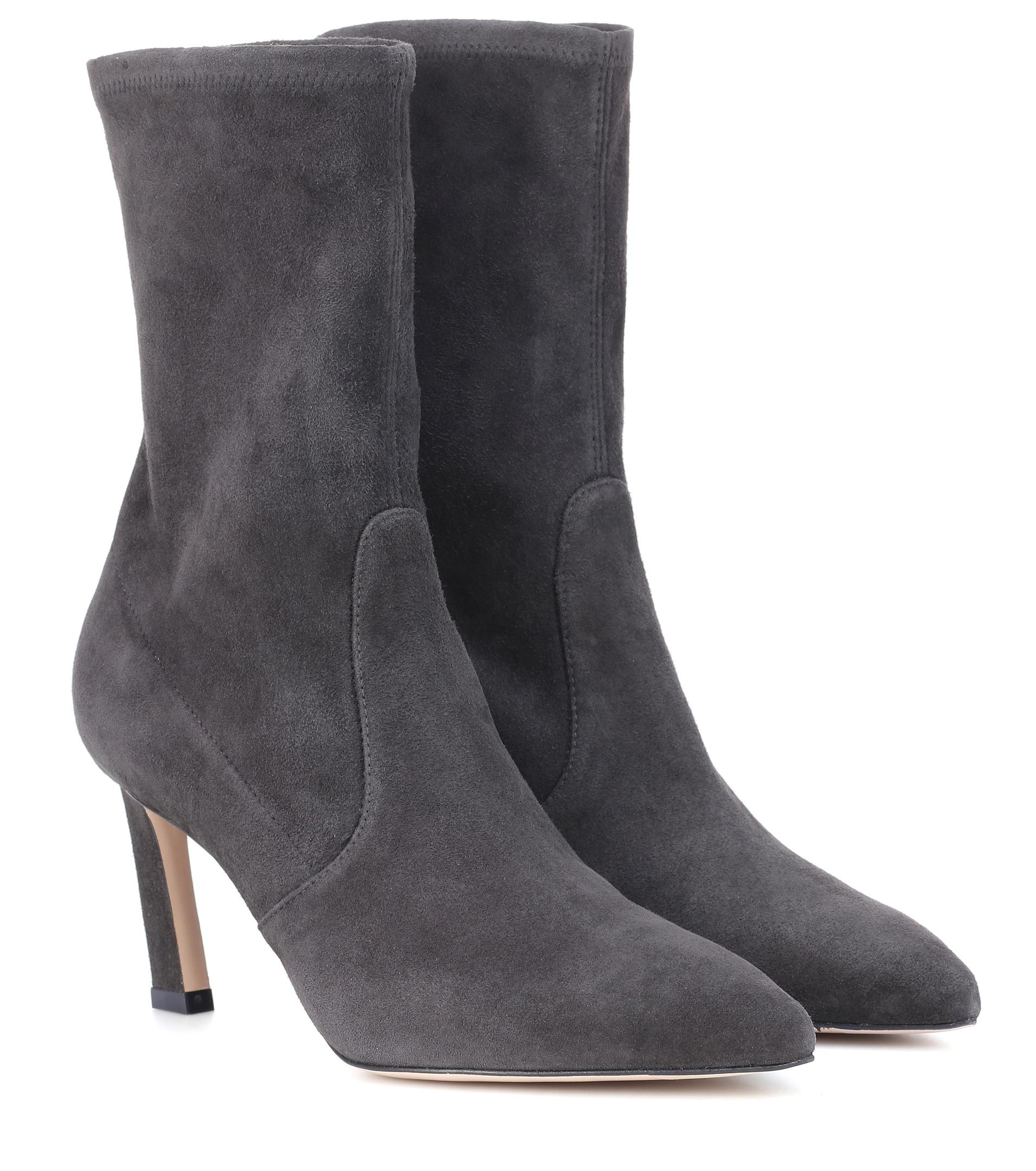 Rapture 75 boots - Grey Stuart Weitzman Cheap Choice Cheap Sale Shop For Hyper Online n6oB6NuWk