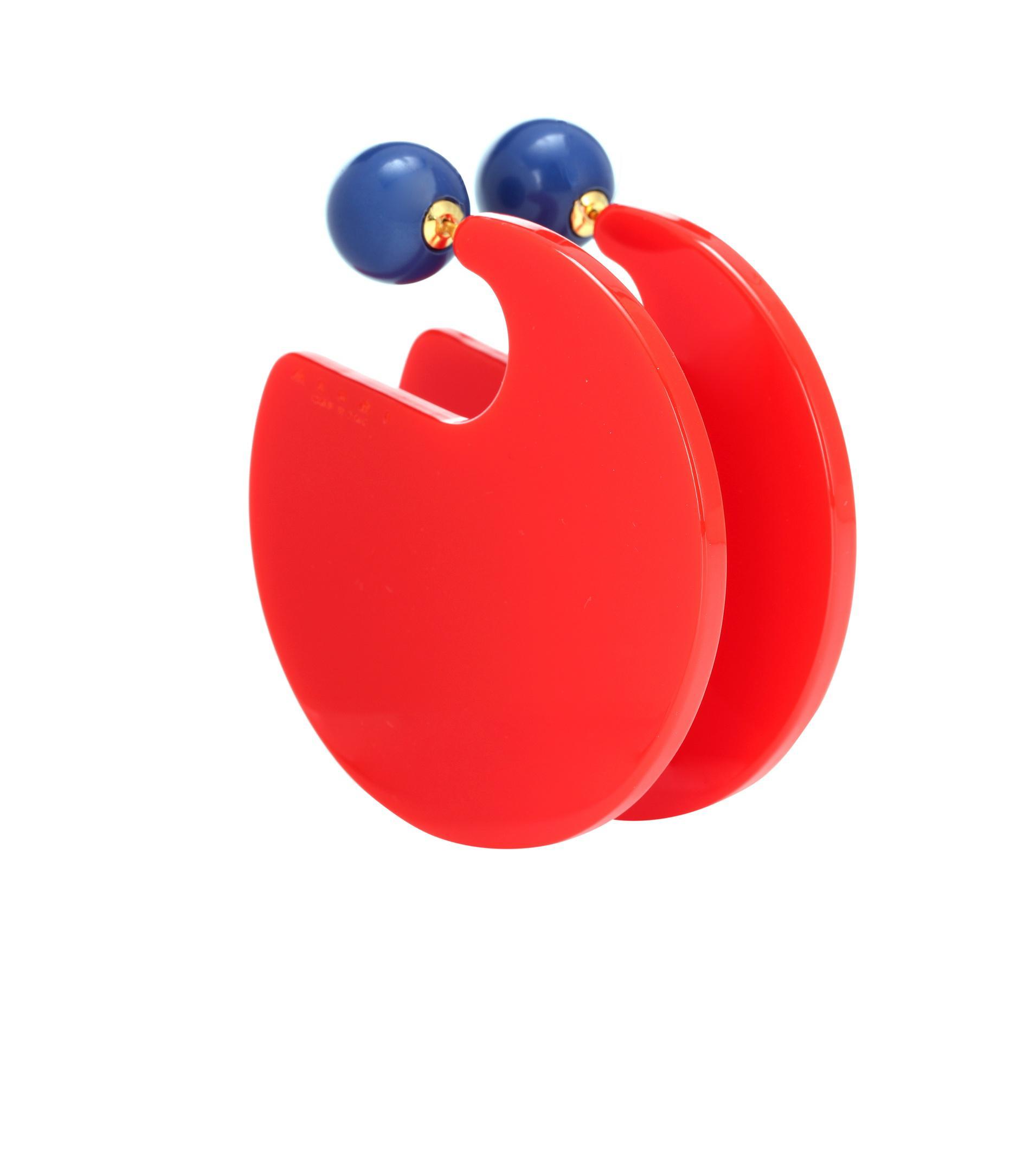 Marni Two-tone circle earrings oAlWORU0K