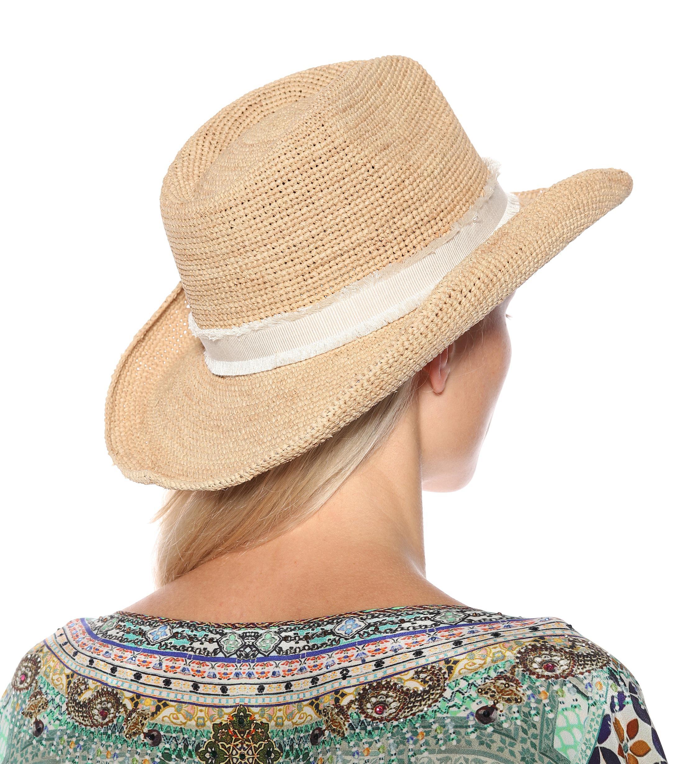 Heidi Klein Cape Elizabeth Raffia Cowboy Hat in Natural - Lyst 92e483ae5d8a