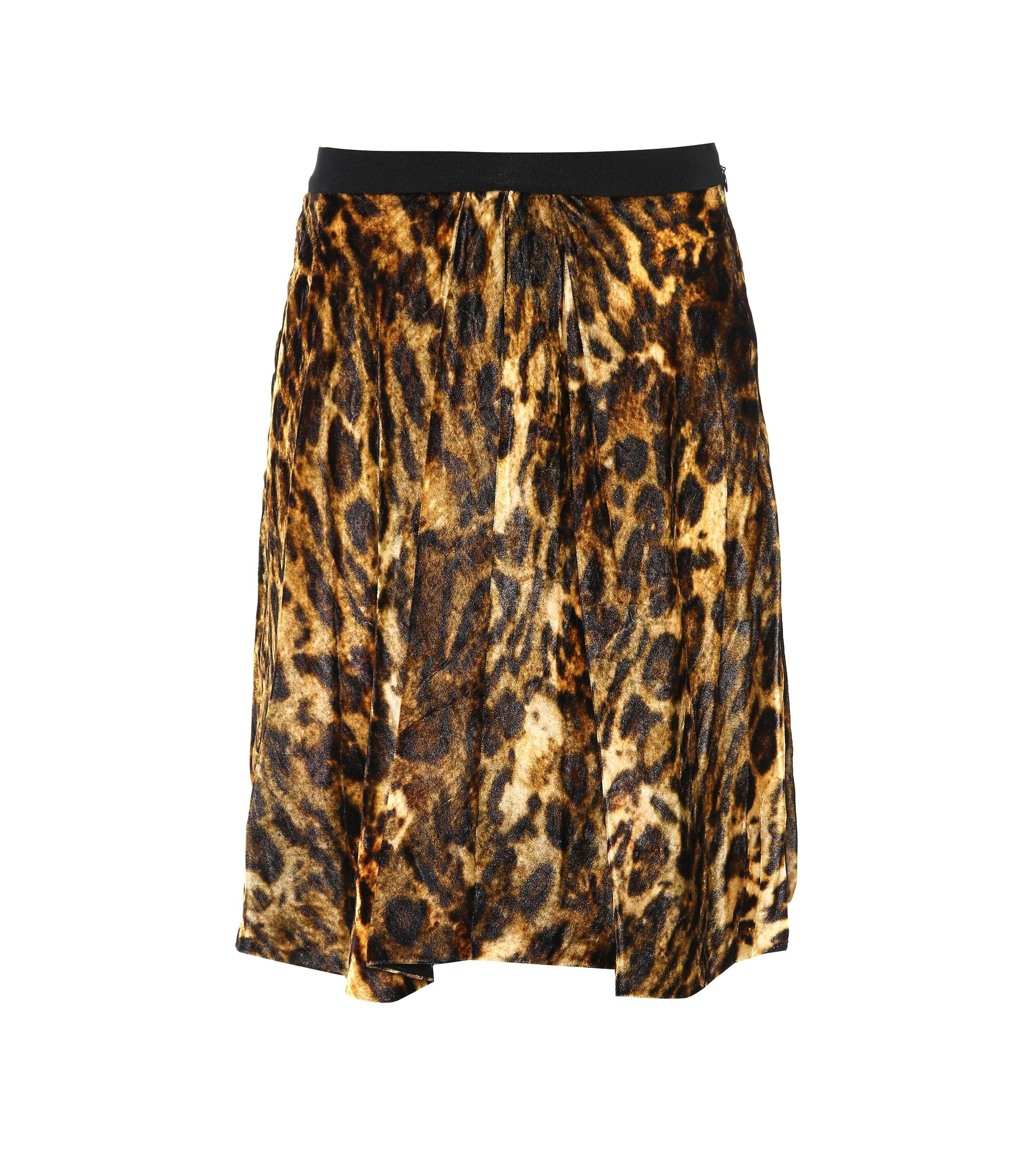 c6c44910aba2 Isabel Marant. Women's Tanza Leopard-printed Skirt