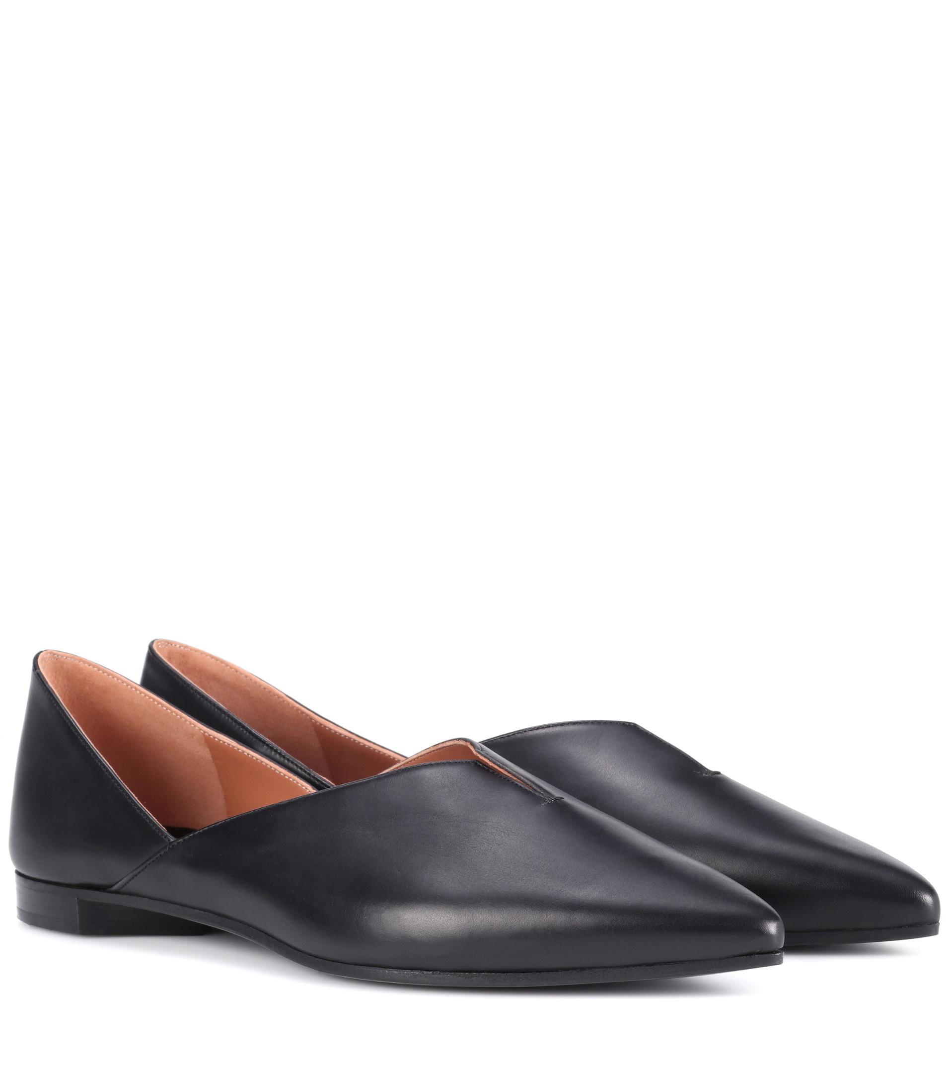 9808ff108e9 Lyst - Pierre Hardy Secret Mule Leather Loafers in Black