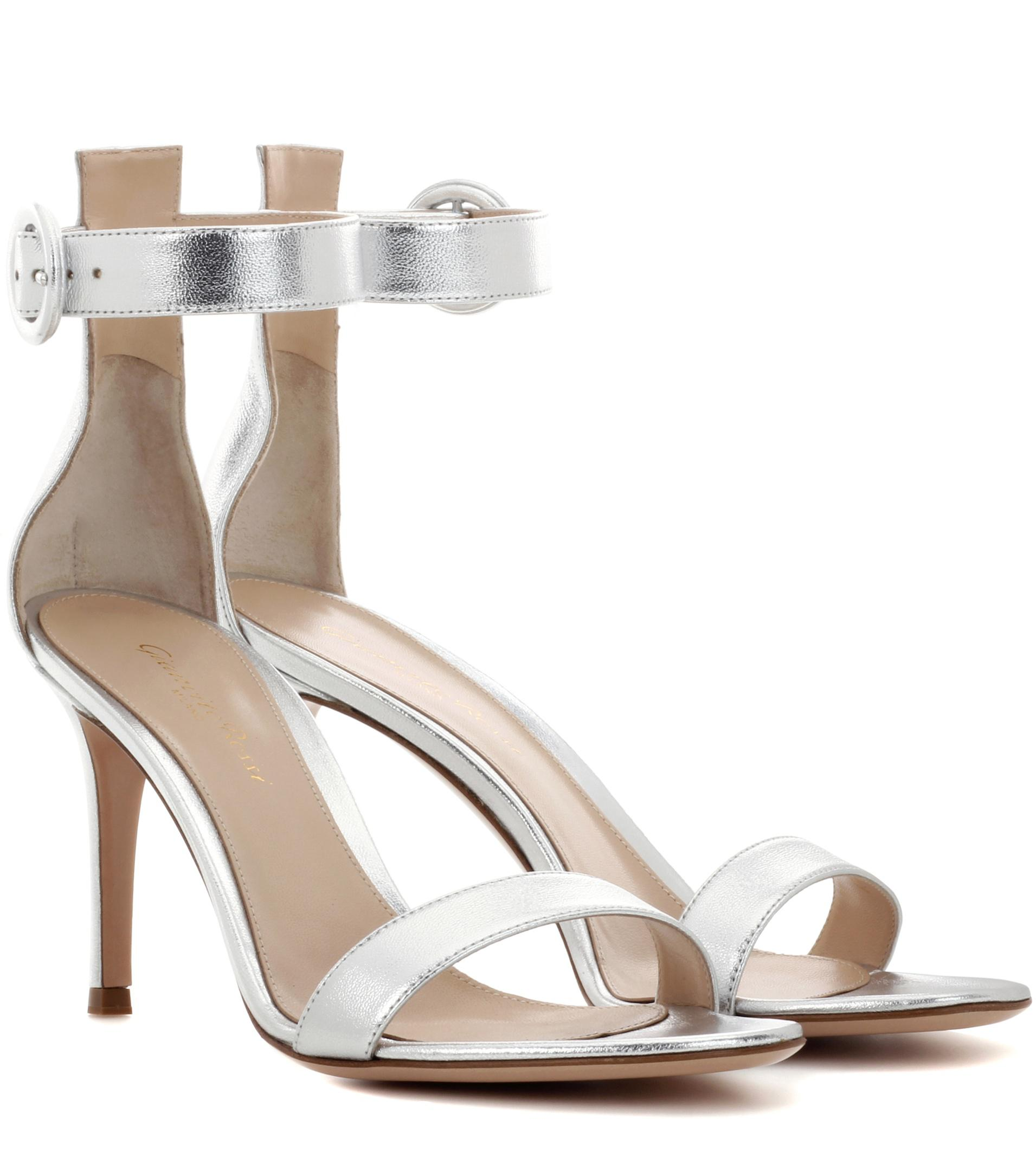 cheap 100% authentic free shipping websites Gianvito Rossi Canvas Ankle Strap Sandals browse cheap price new arrival online outlet 2015 ubuJWGIqVD