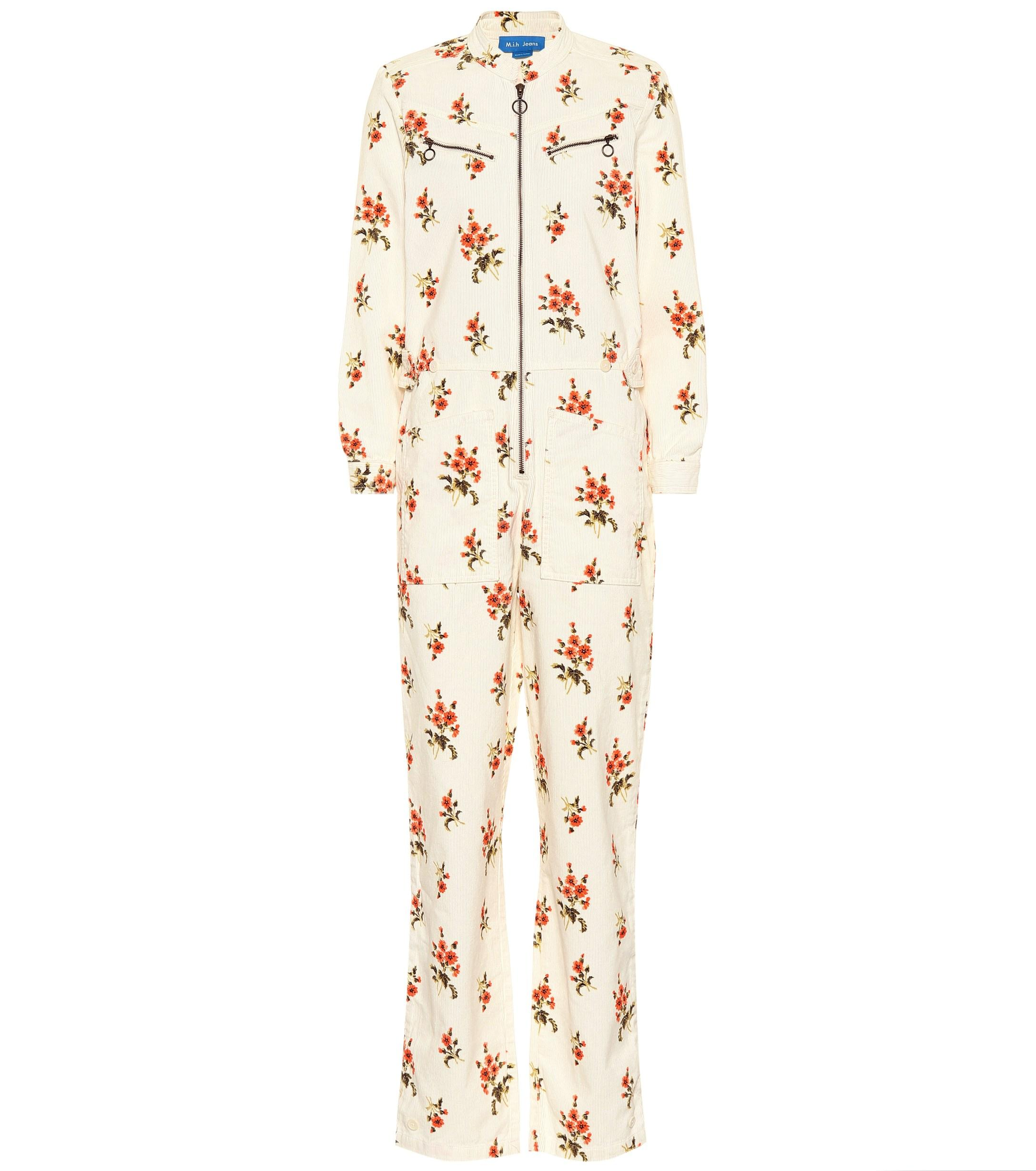 bfdda62df437 Lyst - M.i.h Jeans Margot All In One Corduroy Jumpsuit in Natural