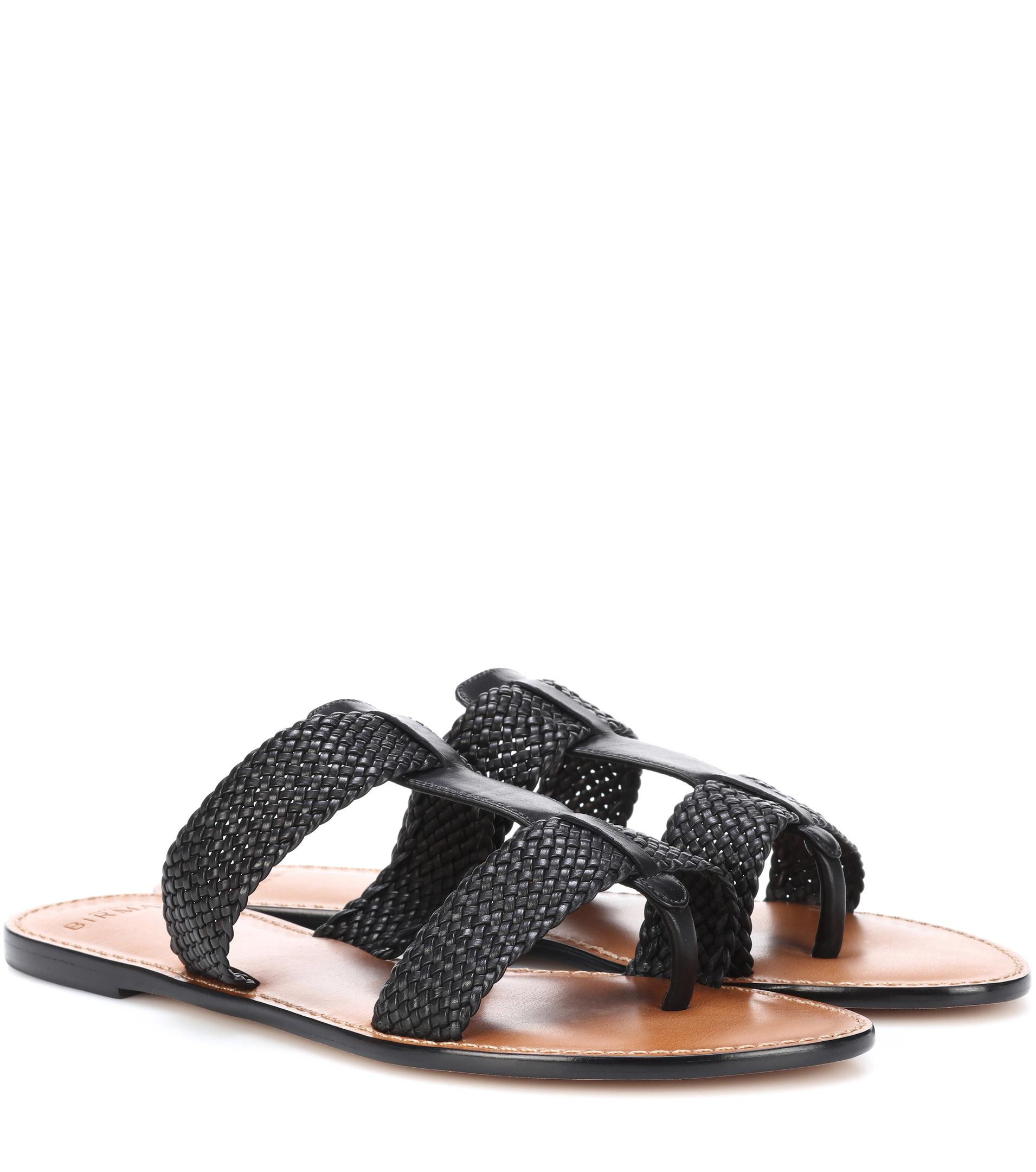 footlocker cheap price Alexandre Birman Woven Slide Sandals cheap sale really 38FZWTJg