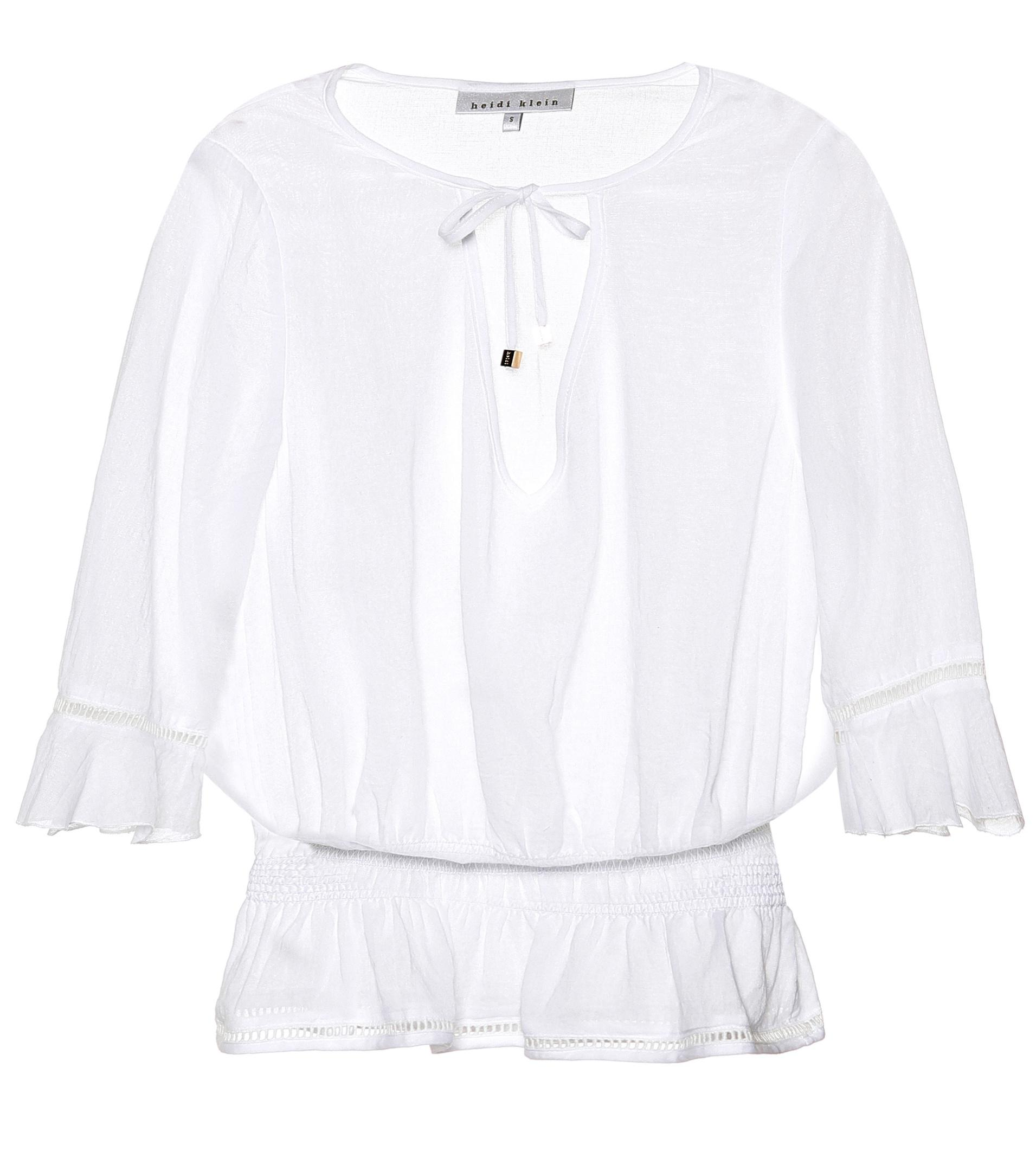 With Paypal For Sale Limited Seychelles cotton top Heidi Klein GTd0Muo0q