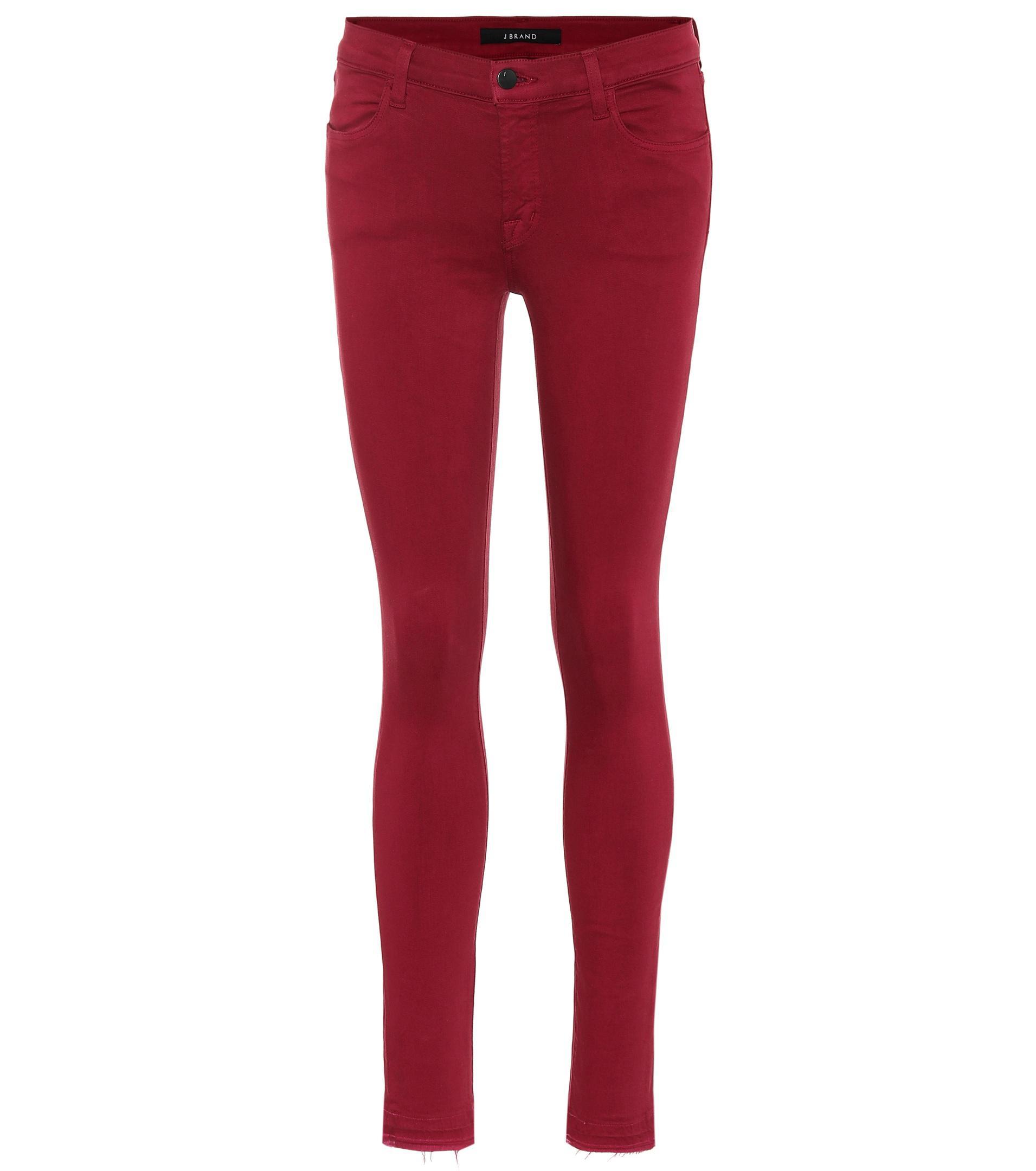 a68910f132ff8b Lyst - J Brand Jeans 620 Super Skinny in Lila