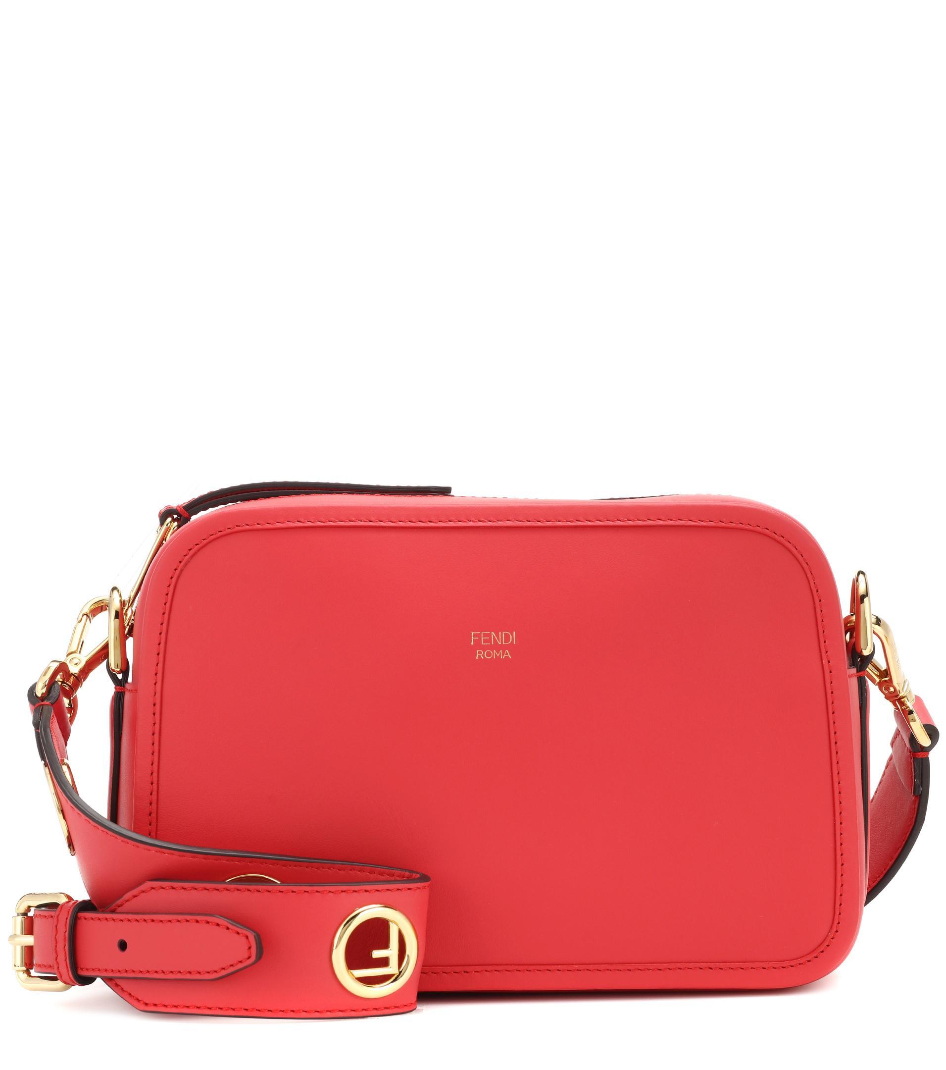 Camera Case shoulder bag - Red Fendi DIR8So5