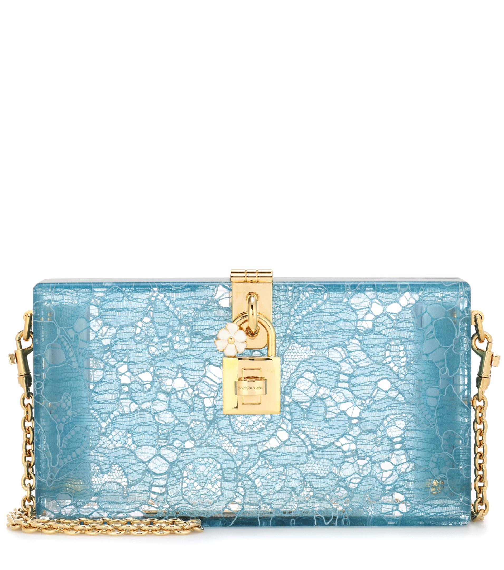 c9f3d38c5a Dolce & Gabbana Exclusive To Mytheresa. Com – Dolce Box Lace Clutch ...