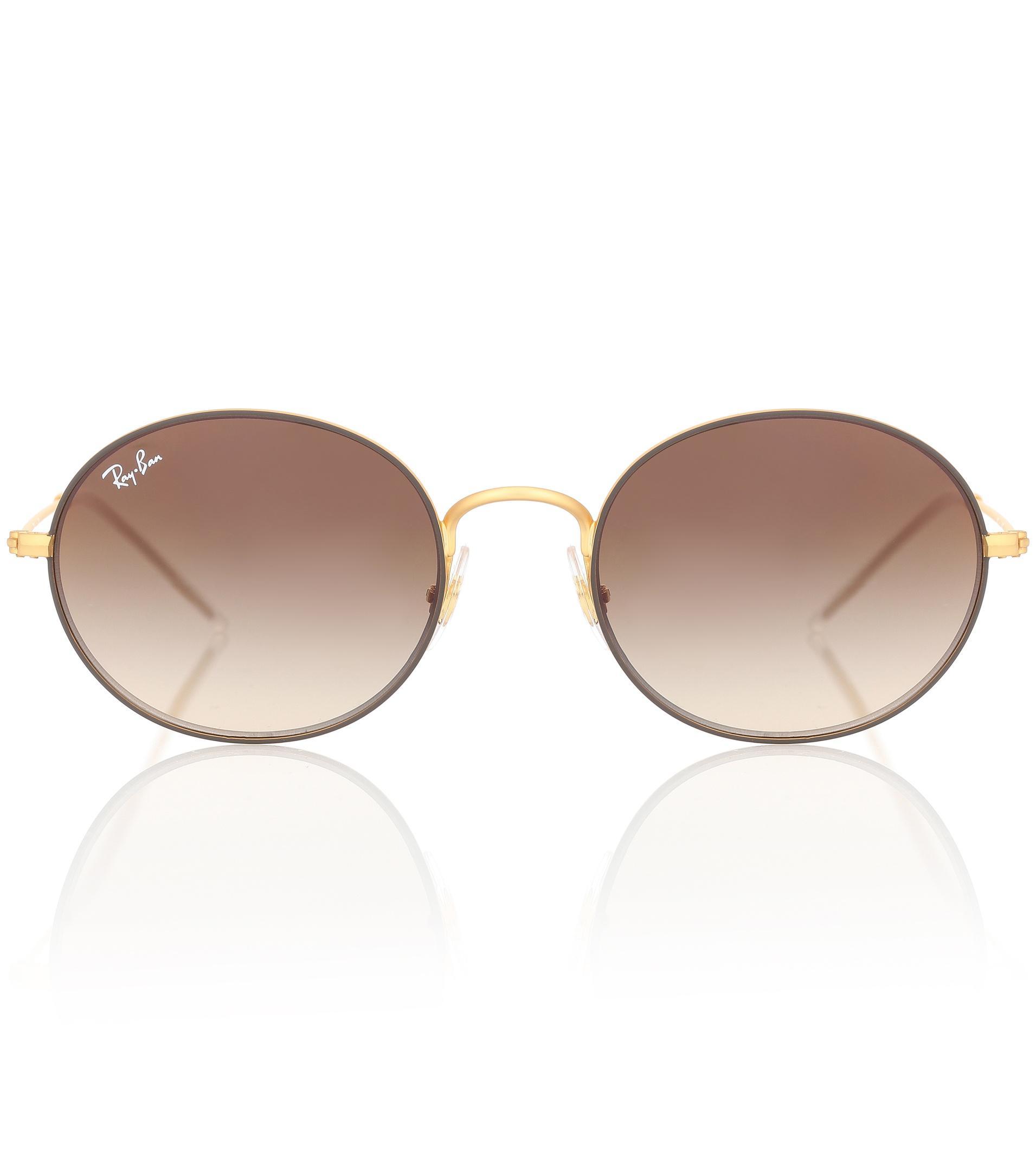 Ray-Ban Rb3594 Round Sunglasses in Metallic - Lyst cda0d9c769
