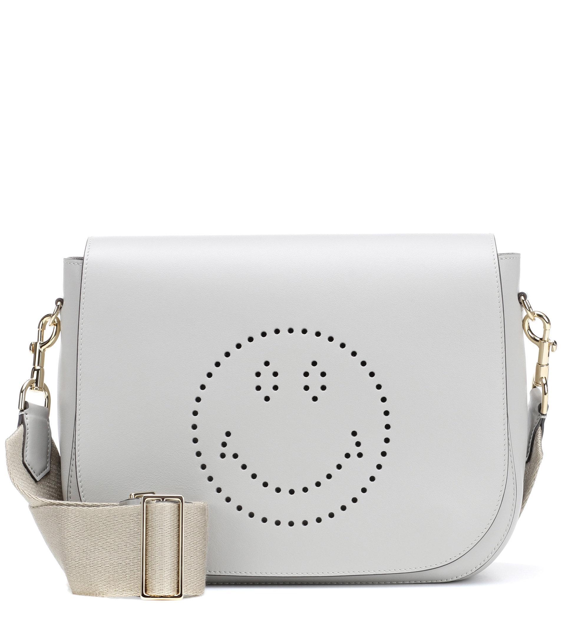 Love print satchel bag - White Anya Hindmarch ftWQpBK8