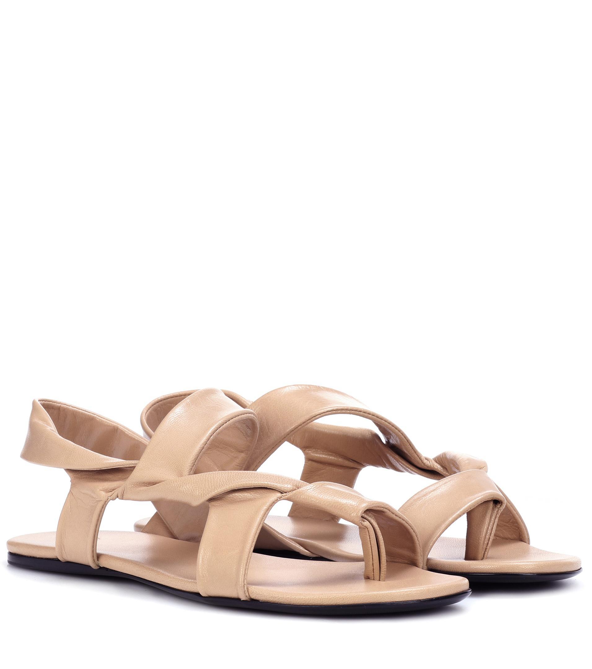 Womens Giada Leather Slingback Sandals The Row 1q9KkNXXD