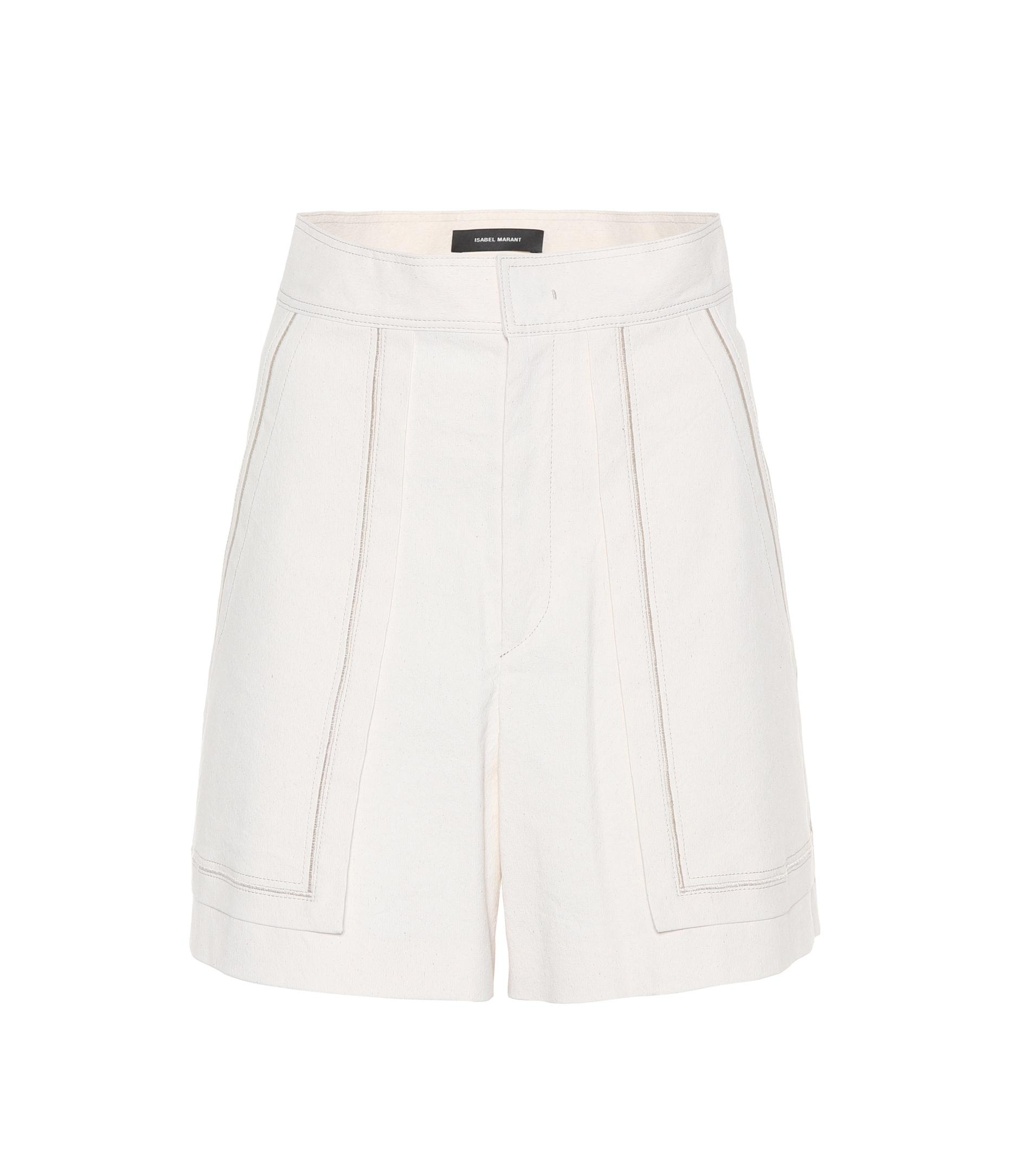 Comfortable Cheap Online Lucky cotton shorts Isabel Marant Sast Cheap Price Cheap Sale High Quality With Paypal Online Pre Order Sale Online kCiMhR